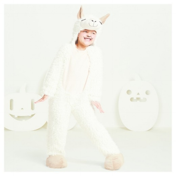 kids llama Costume -- Kids-Baby Halloween Costume Ideas - Baby Llama Costume - Mommy Blogger-Vlogger -- The Overwhelmed Mommy