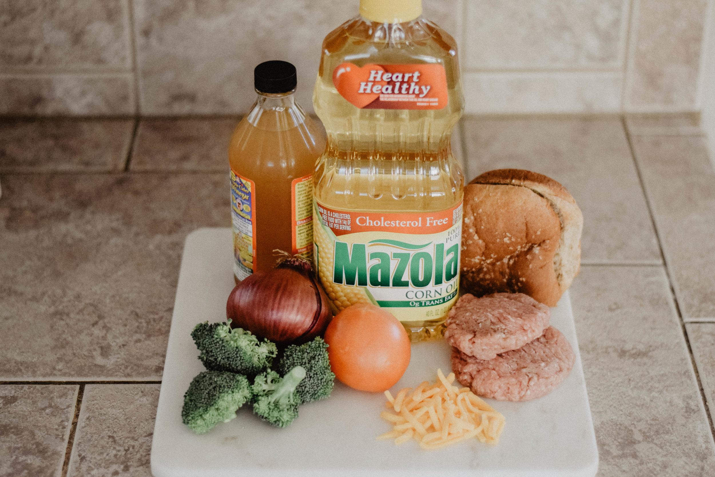 Healthy Burger Recipes -- Mazola Oil -- The Overwhelmed Mommy - Mommy Blogger-Vlogger