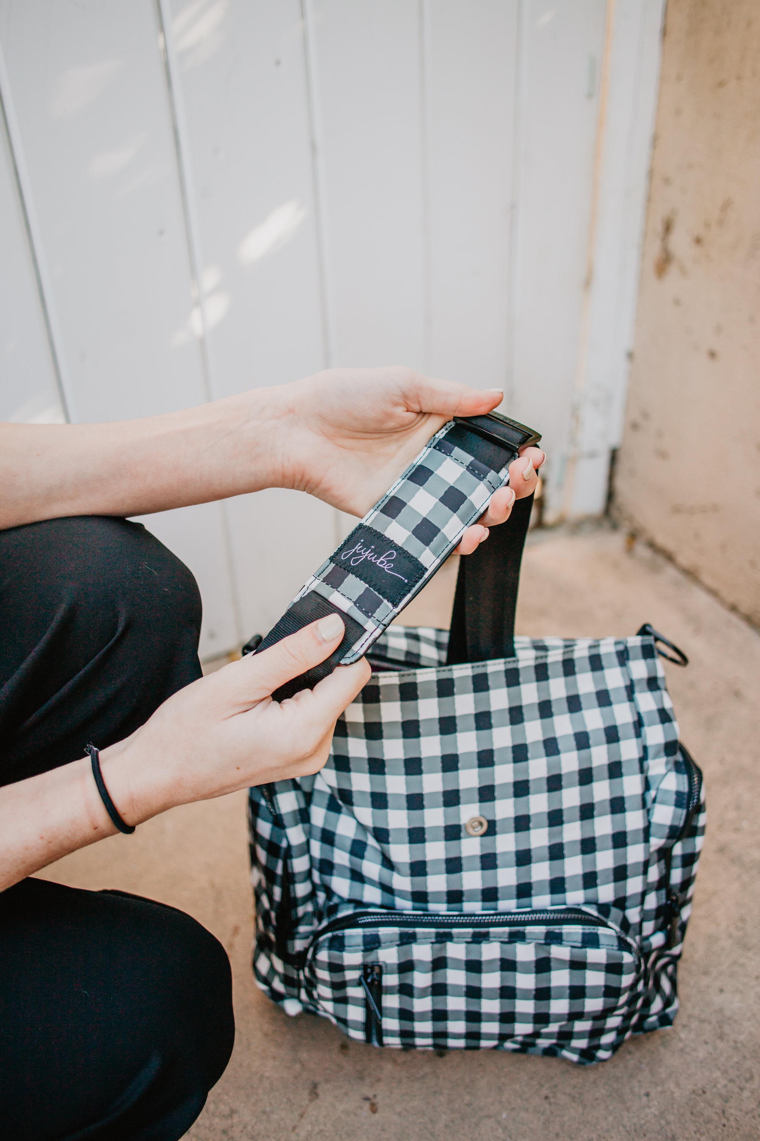 Trendy Diaper Bag Backpacks - Ju-Ju-Be Gingham Style Be Sporty -- Mommy Blog - The Overwhelmed Mommy