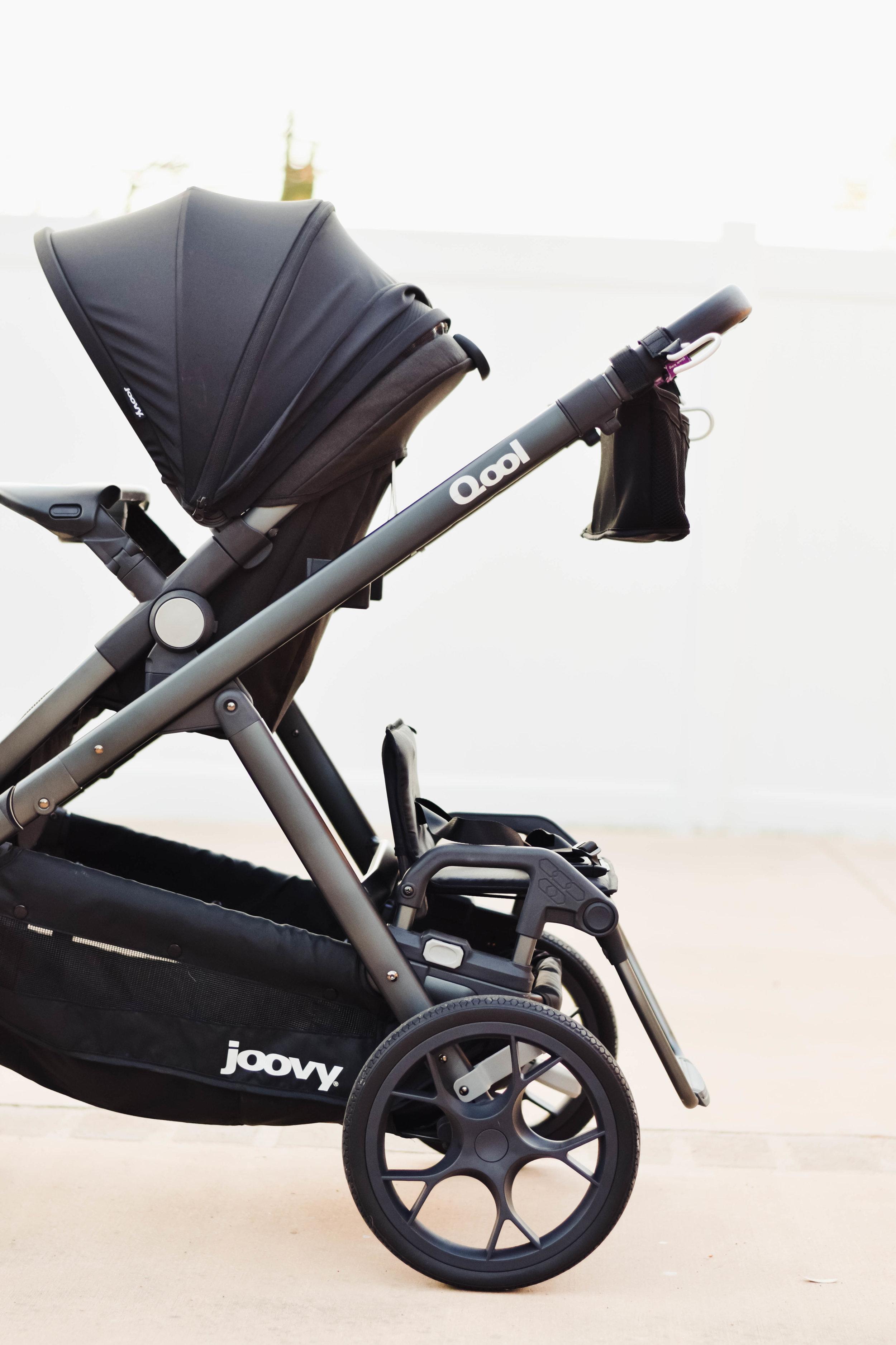 JOOVY Qool Bench Seat Black