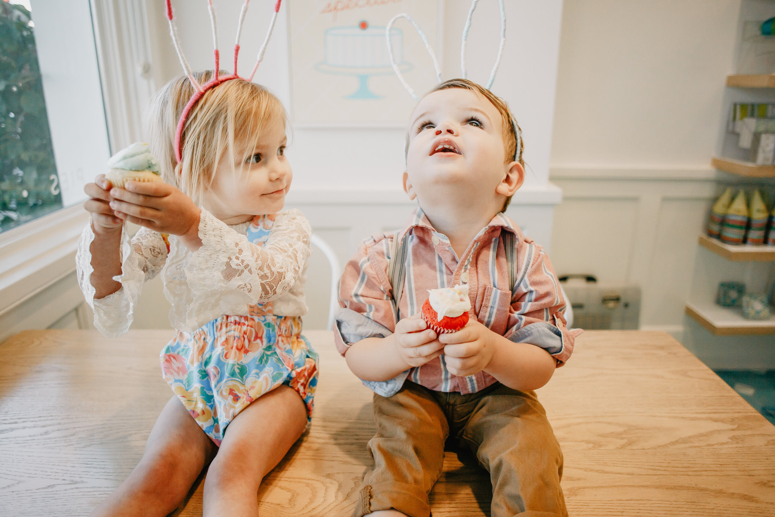Cute Kids Easter Clothes - The Oliver + Ava Show: Bunny Edition -- Mommy Blogger - The Overwhelmed Mommy