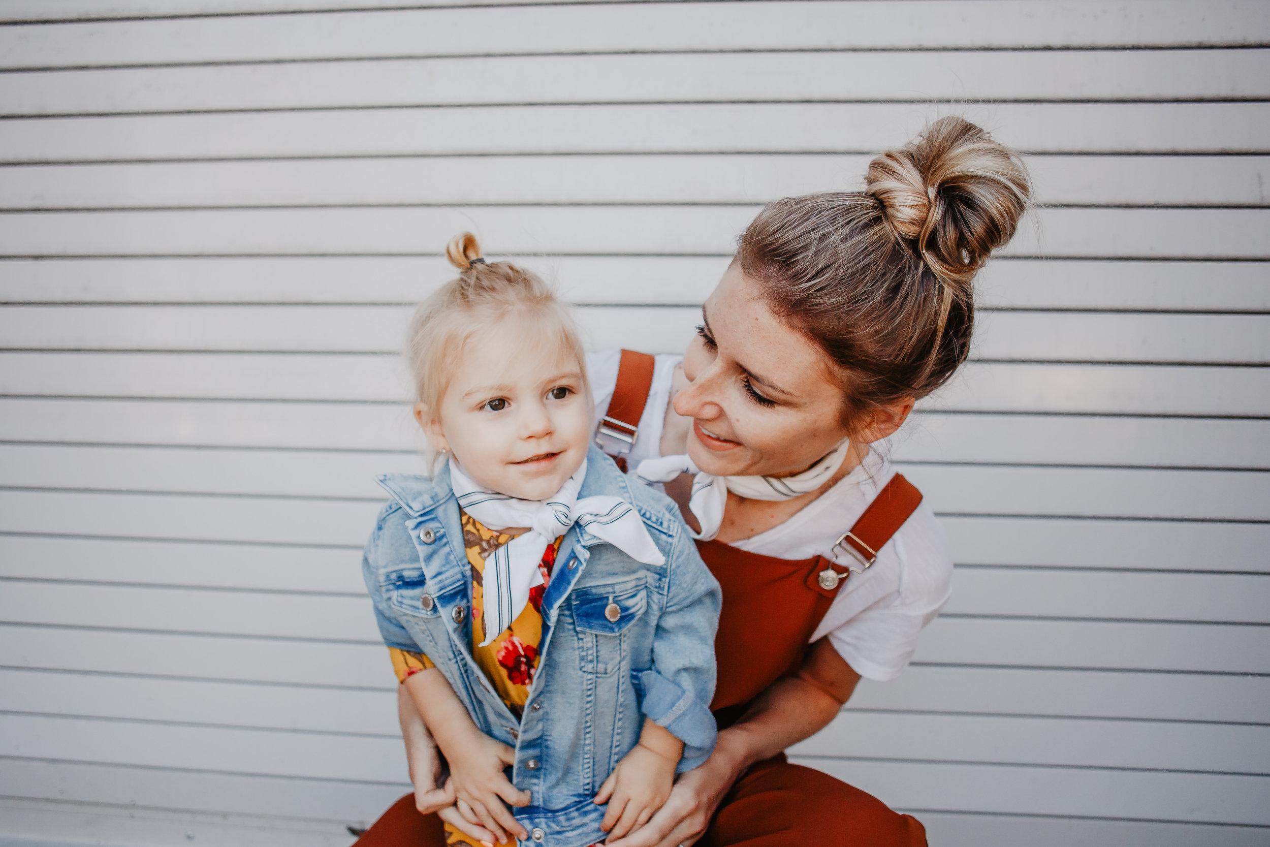 Cute Spring Kids Clothes - Affordable Women's Fashion - Orange Women's Jumpsuit - Yellow Floral Kids Maxi Dress
