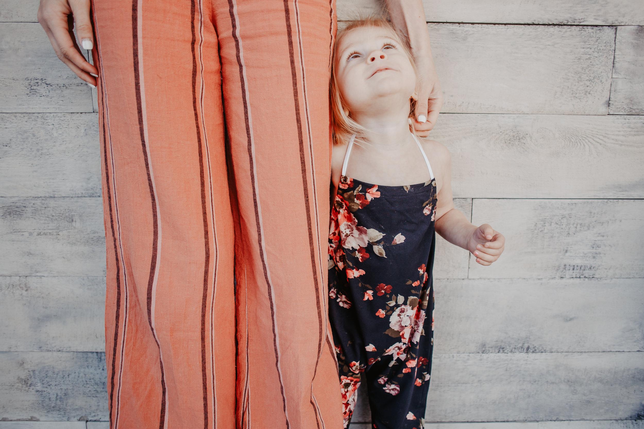 Open Back Women's Jumpsuit - Kids Floral Jumpsuit