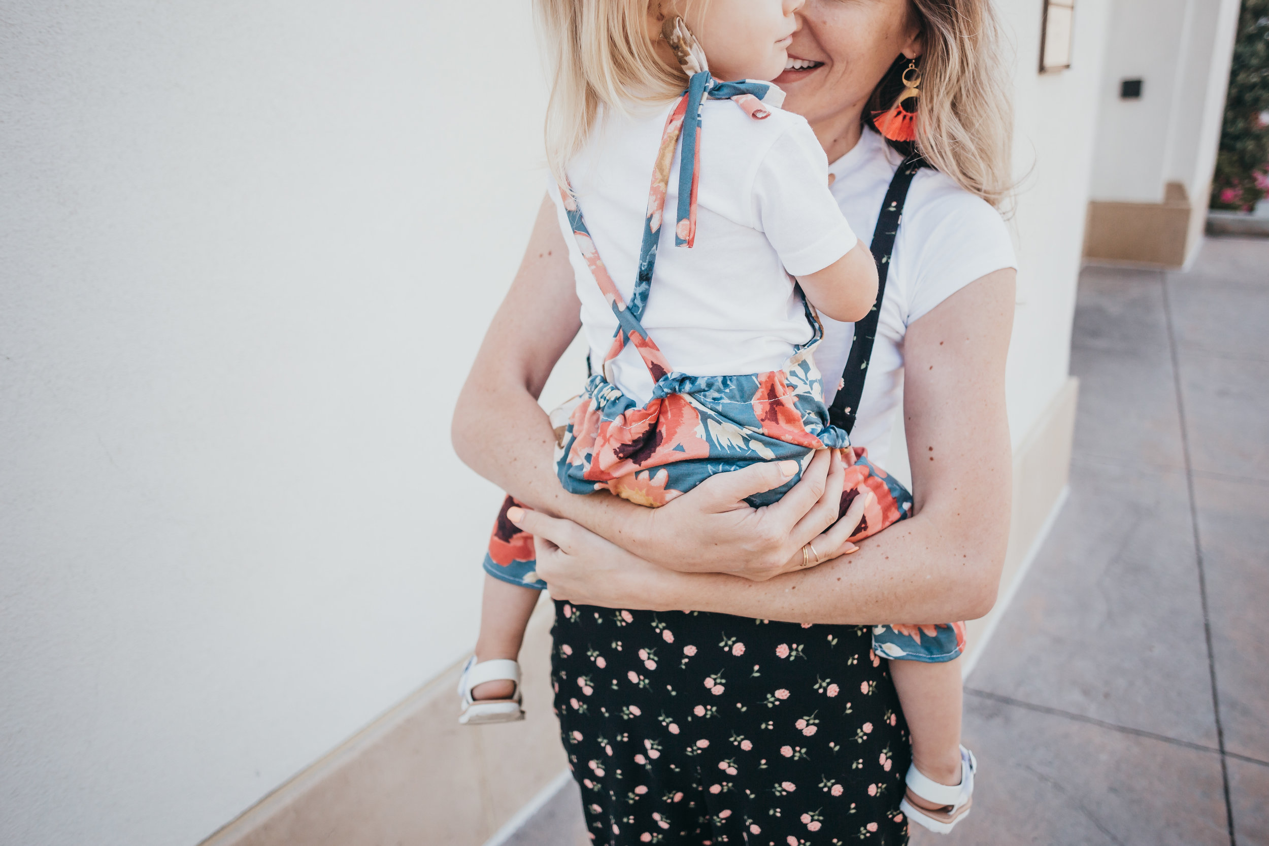 Women's Overall Style Jumpsuit - Kids Floral Jumpsuit - Cute Kids Clothes