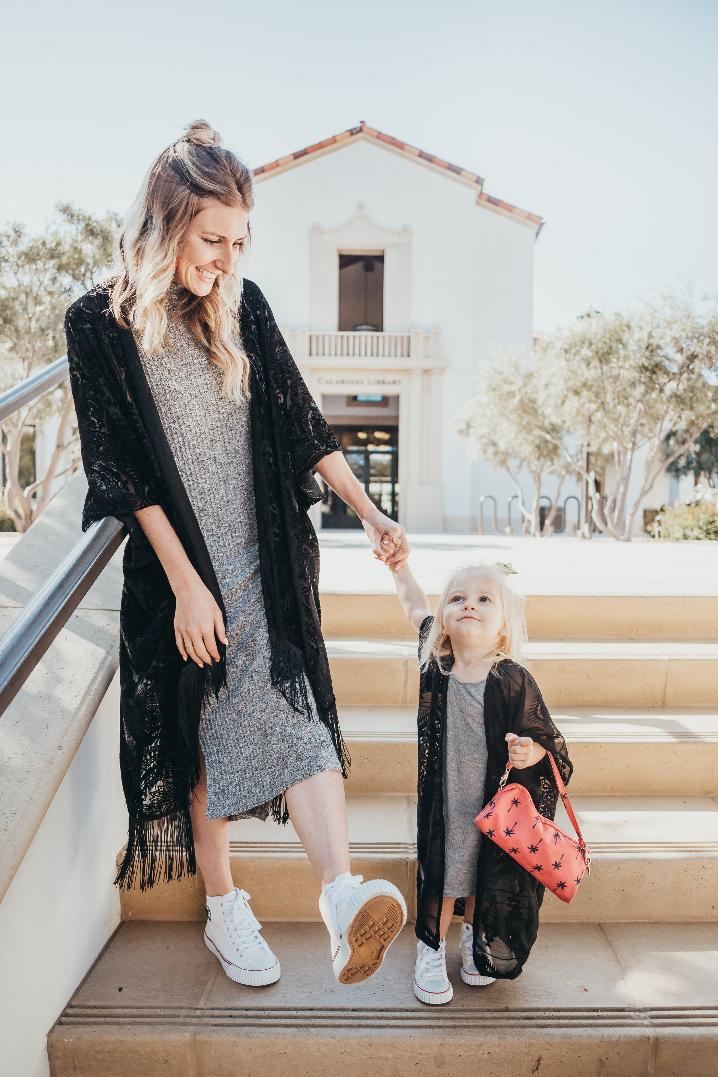 Matching Mommy + Me Shoes - Mommy + Me Matching Clothes -- The Overwhelmed Mommy Blogger