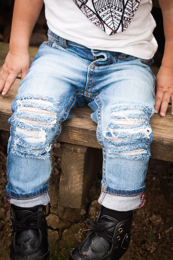 Baby Kids Ripped Jeans Distressed Denim 9.jpg