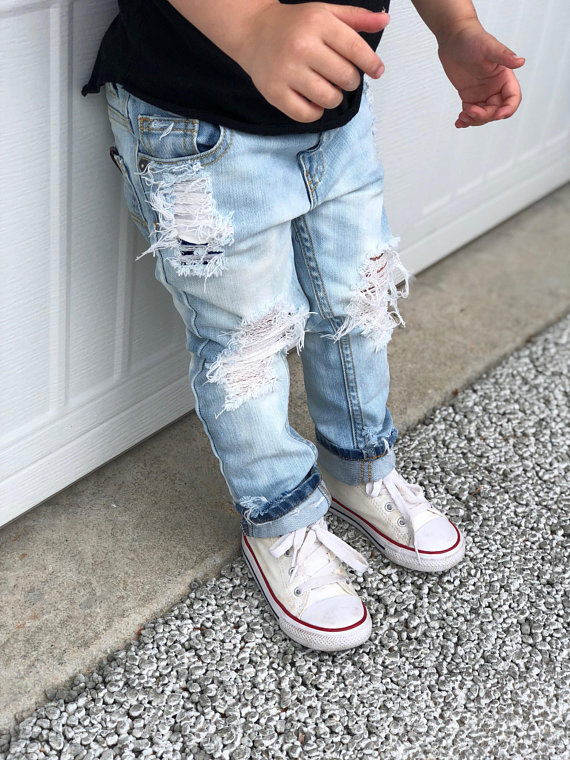 Baby Kids Ripped Jeans Distressed Denim 22.jpg