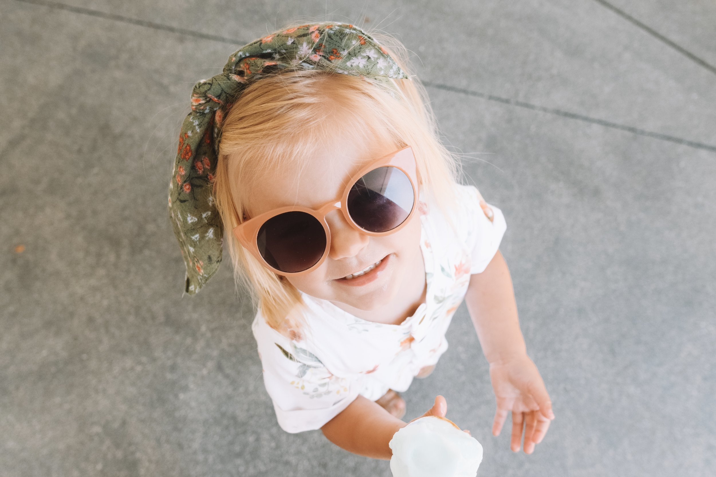 Cute Kids Clothes - Floral Baby Romper - Kids Gladiator Sandals -- The Overwhelmed Mommy Blogger