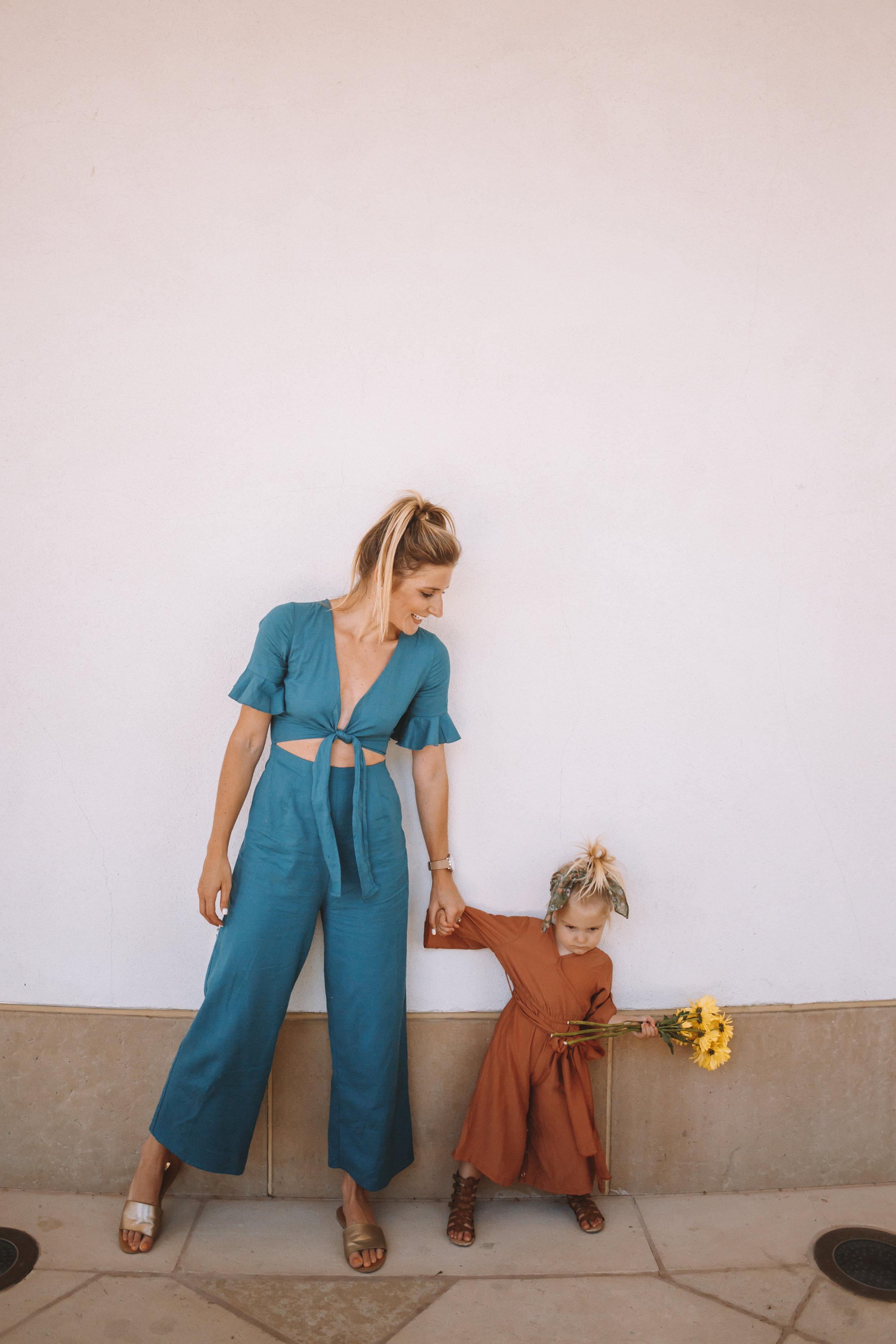 Cute Kids Clothes -- Kids Jumpsuits -- Women's Cutout Jumpsuit