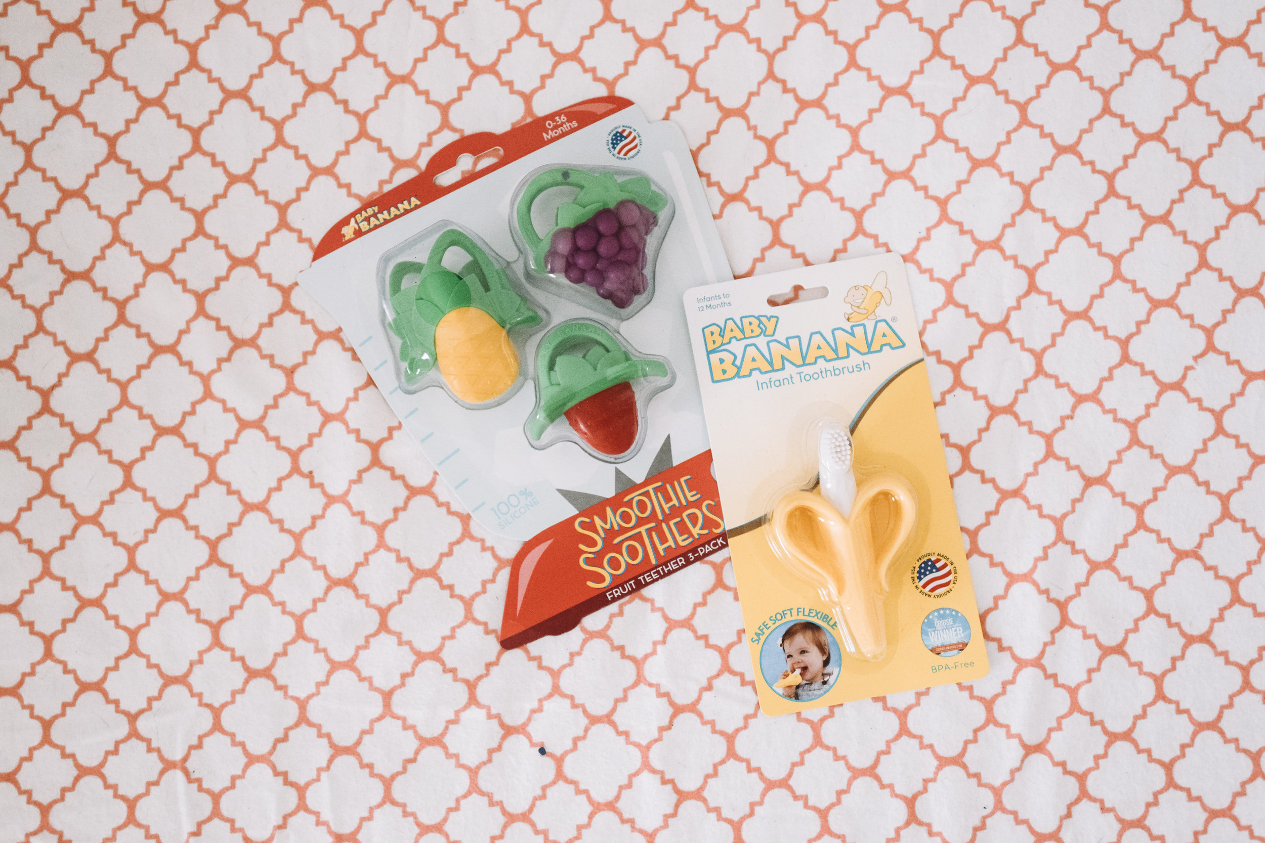The Best Baby Teethers - Banana - Fruit Shaped Baby Teethers -- The Overwhelmed Mommy Blogger