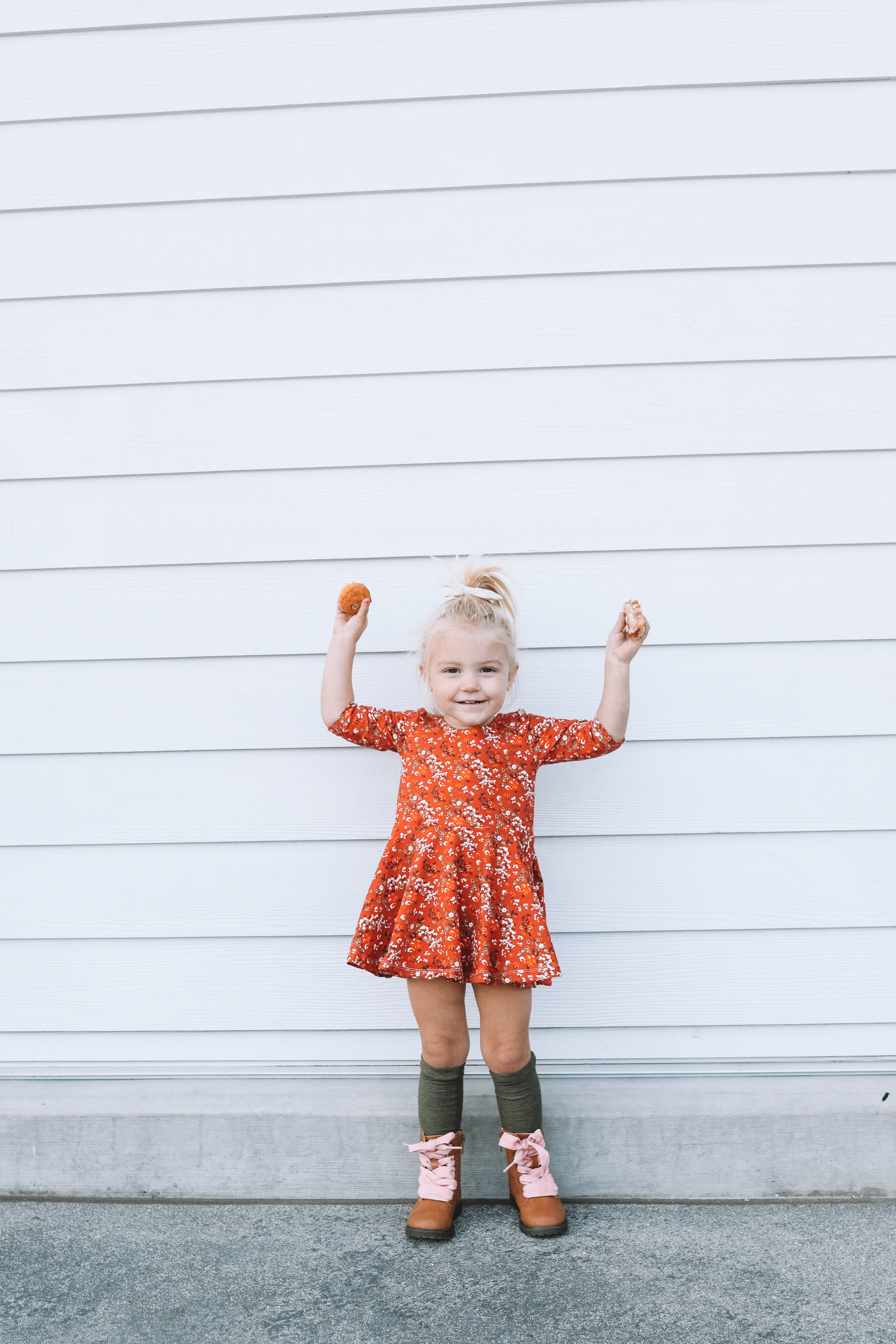Cute Kids Clothes -- Cute Fall Baby Dresses -- The Overwhelmed Mommy Blogger