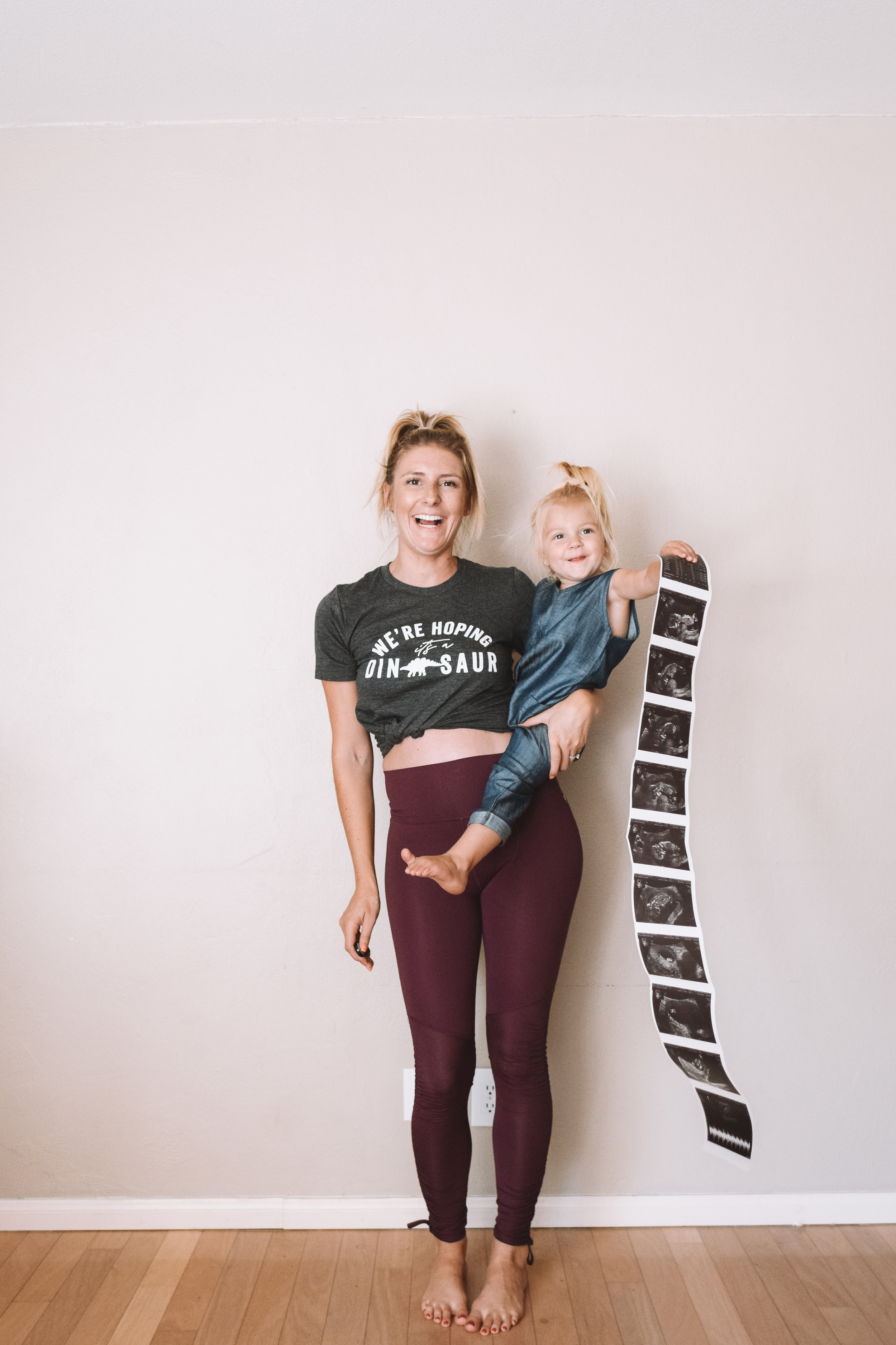 12 Week Pregnant Belly - Funny Pregnancy Shirts -- The Overwhelmed Pregnant Mommy Blogger