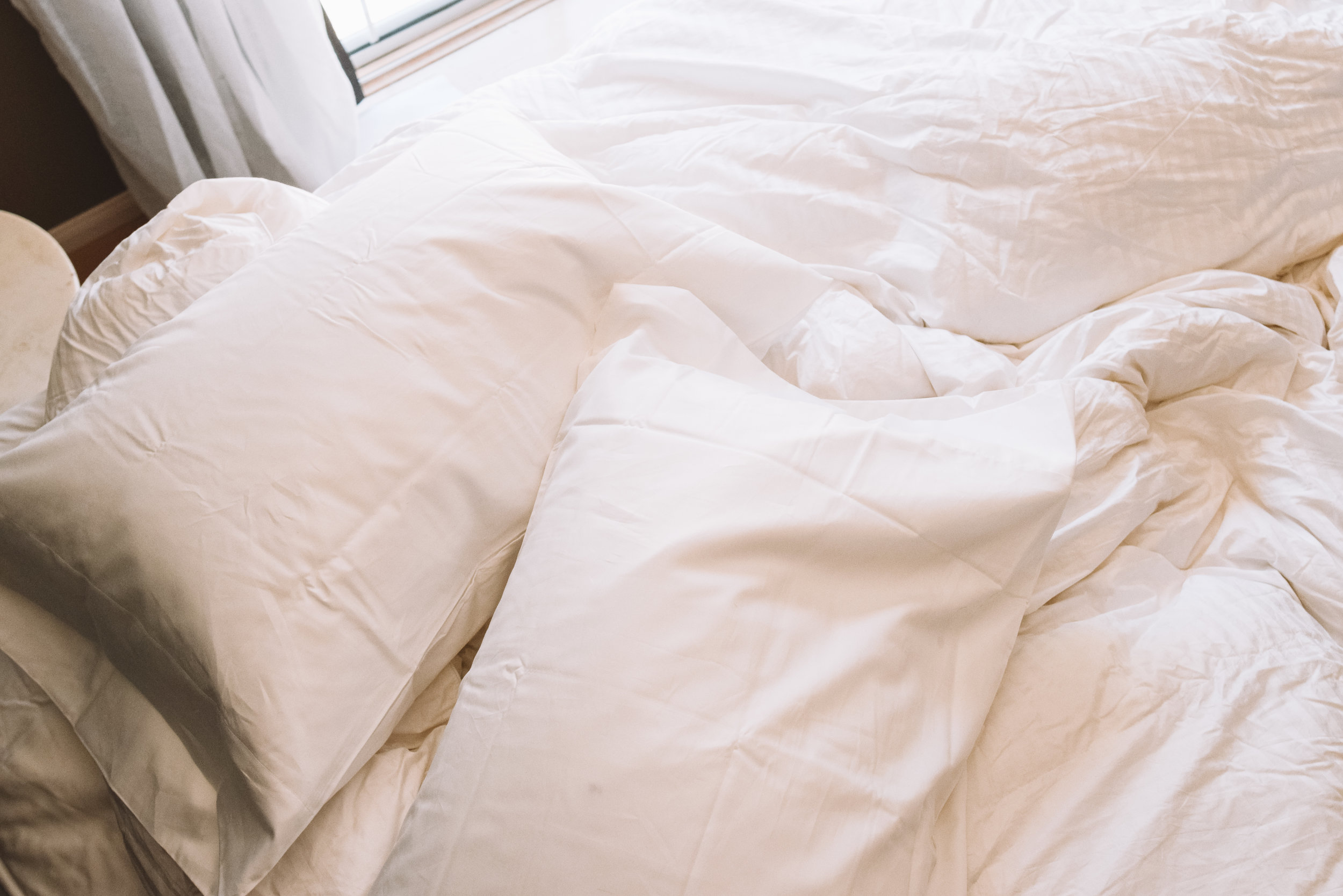Online Bedding -- Down Comforter, Down Pillows - The Company Store -- The Overwhelmed Mommy Blogger