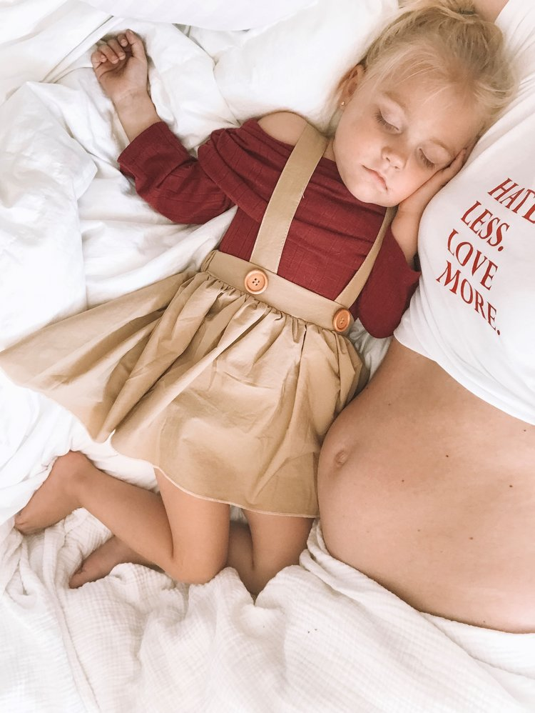Baby Kids Suspender Skirts - Cute Fall Baby-Kids Clothes — The Overwhelmed Mommy Blogger