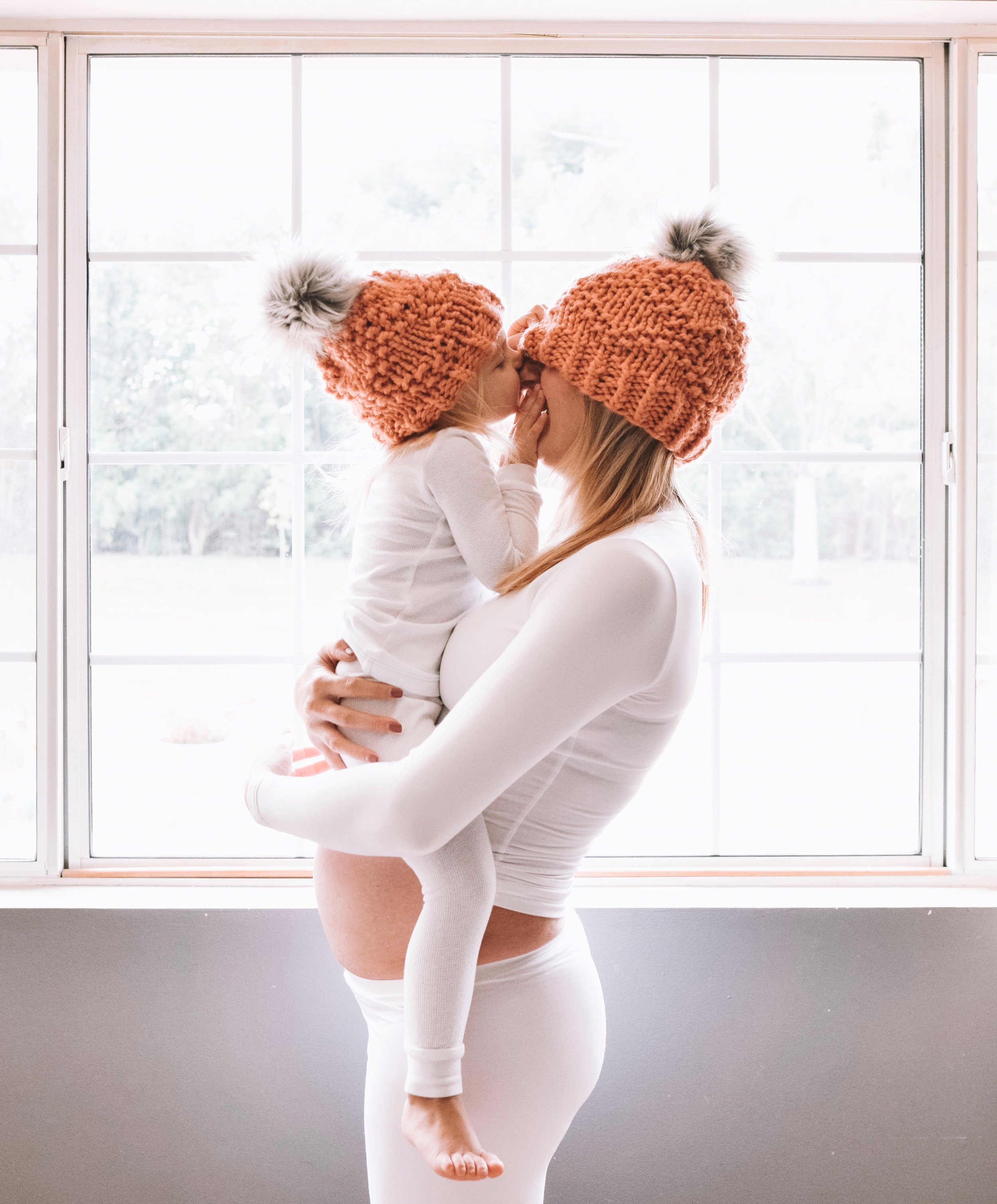 Mommy and Me Beanies - The Overwhelmed Mommy Blogger