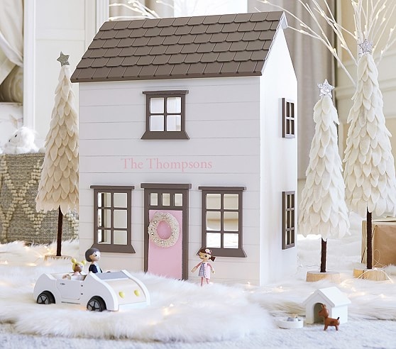Kids Wooden Dollhouses - Toddler Girl Holiday Christmas Gift Ideas Unique - The Overwhelmed Mommy Blogger