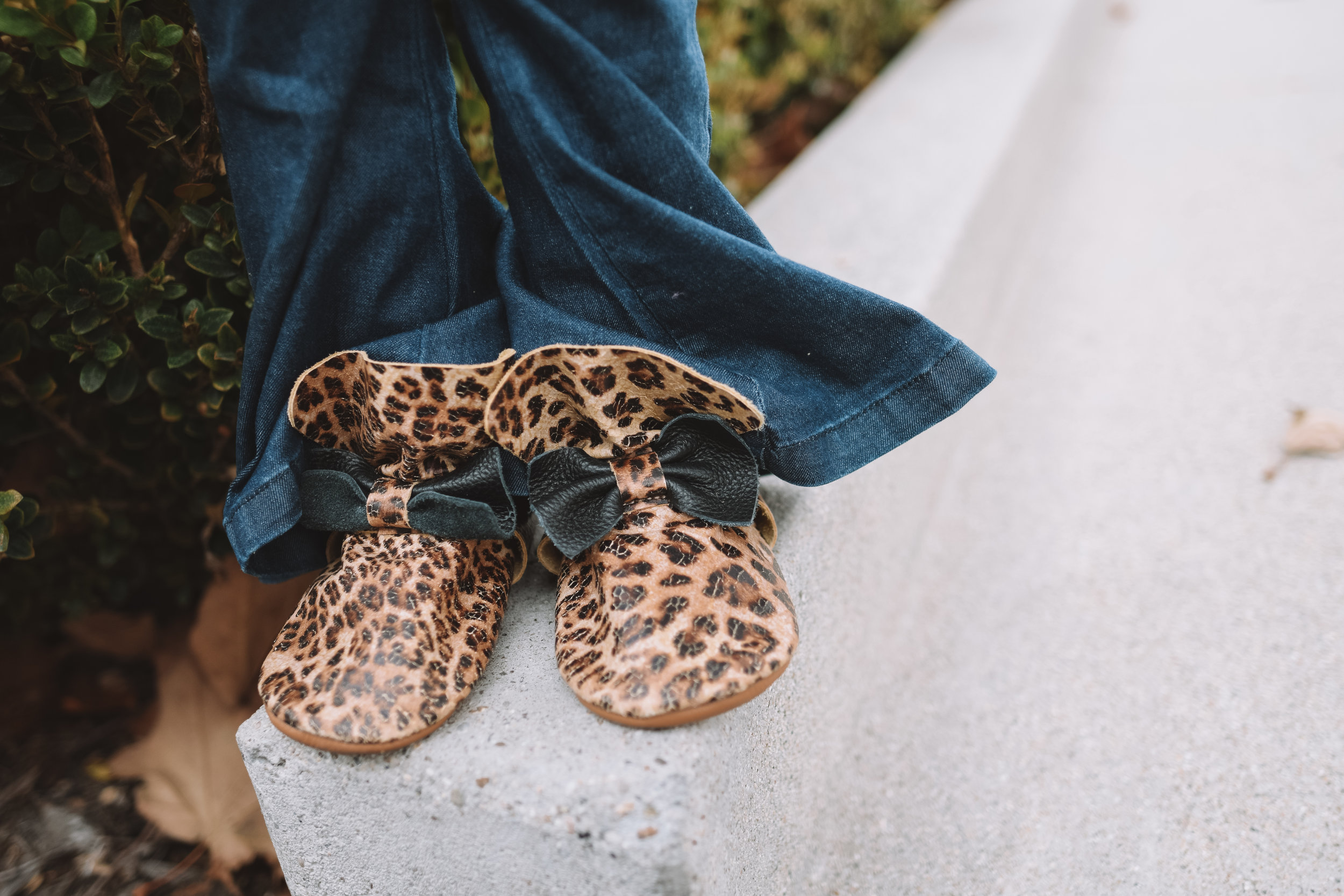 Baby Kids Leopard Print Boots Moccasins - The Overwhelmed Mommy Blogger