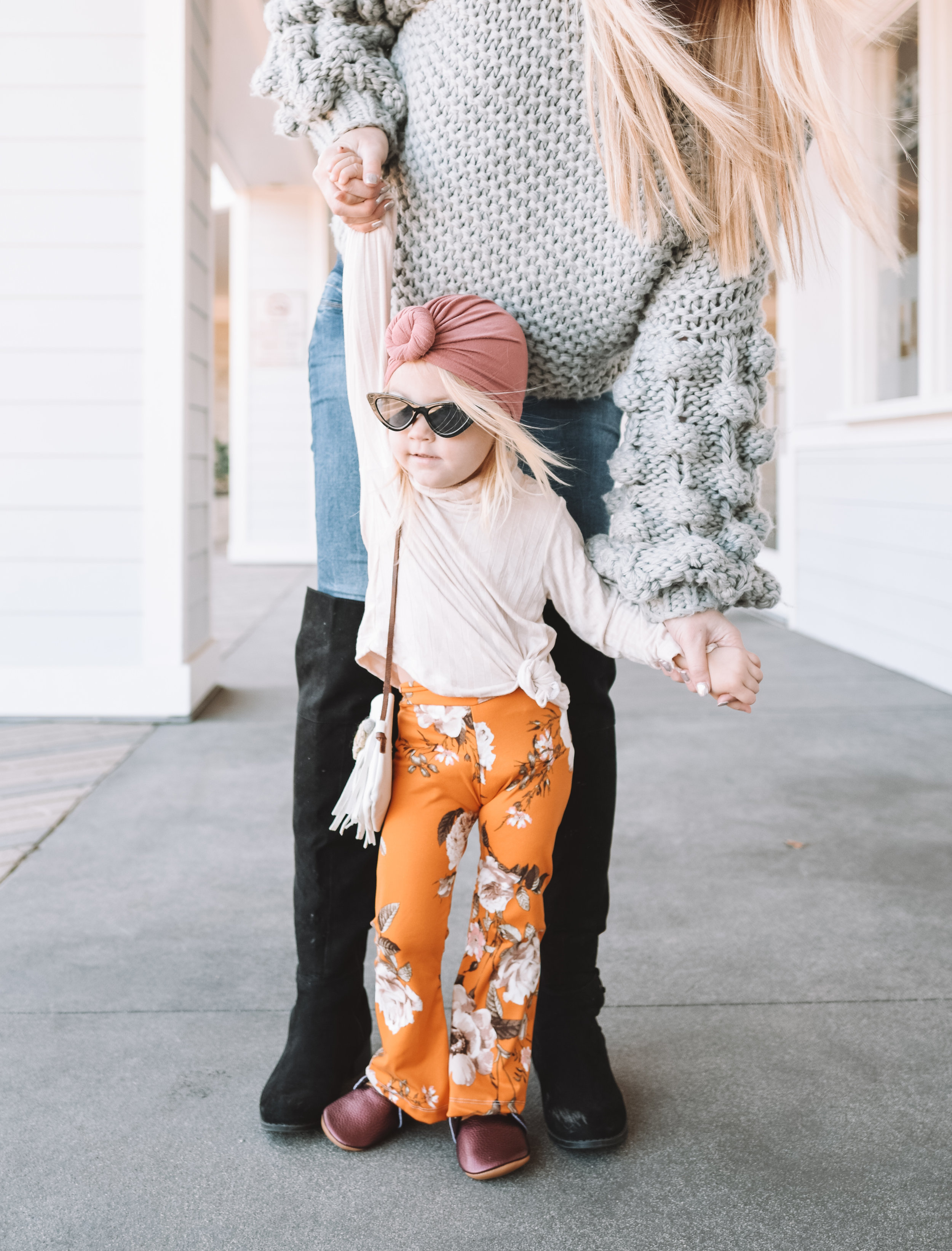 Cute Kids Clothes - Baby Toddler Bell Bottoms - The Overwhelmed Mommy Blogger
