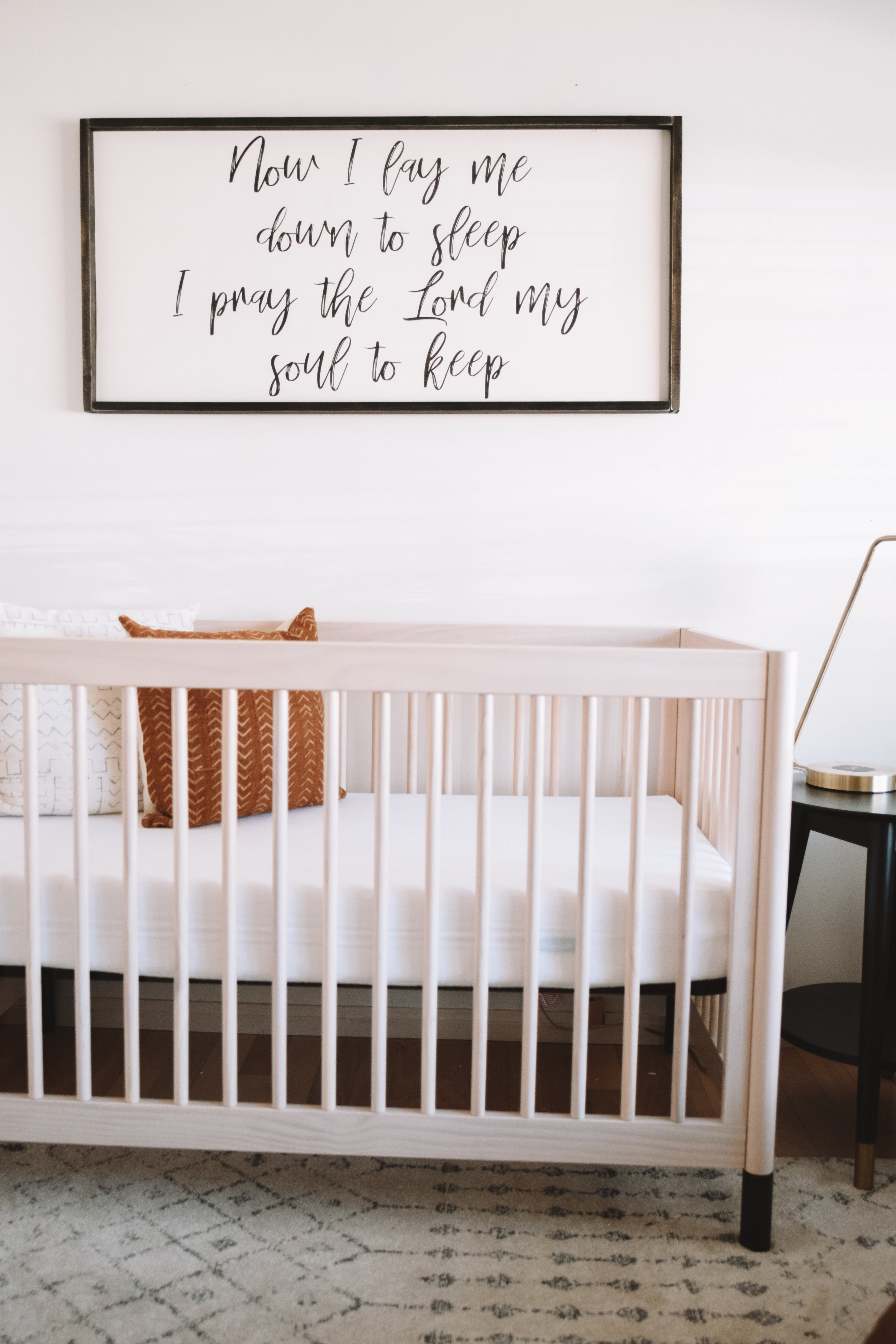 Our Natural, Minimalistic Baby Boy Nursery Tour Reveal - The Overwhelmed Mommy Blogger