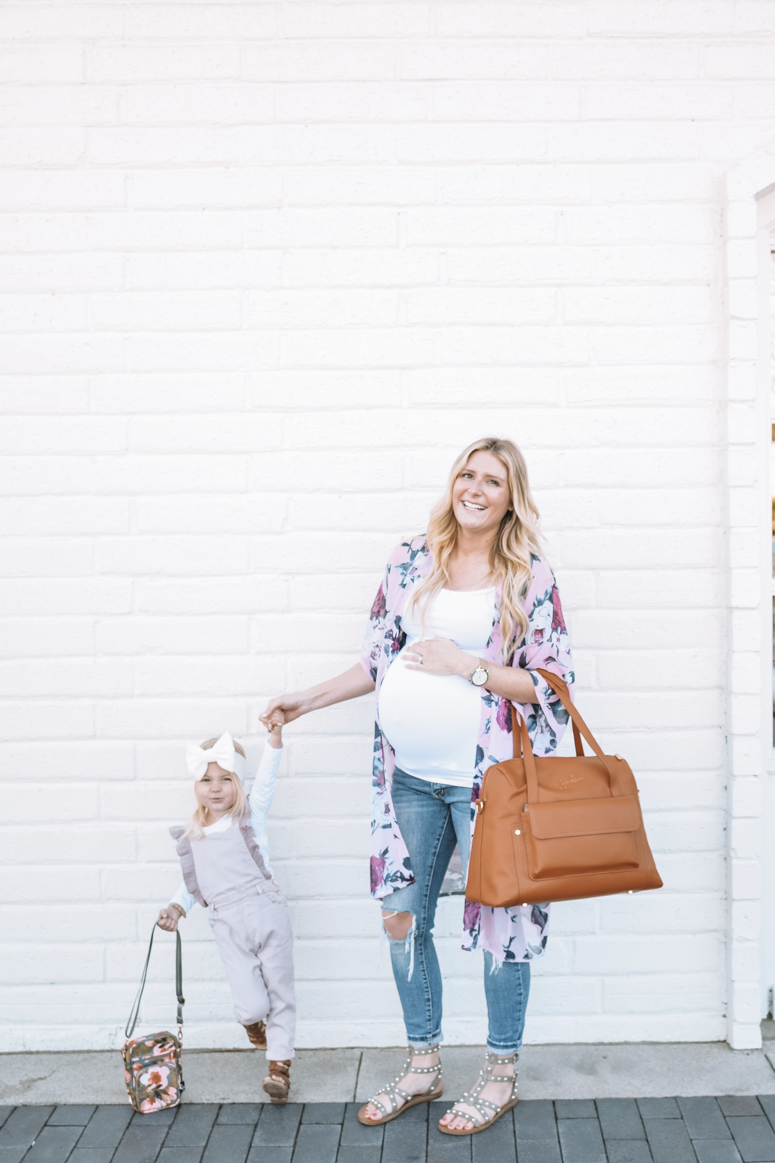 Mommy and Me Clothes - Cute Leather Diaper Bags - The Overwhelmed Mommy Blogger