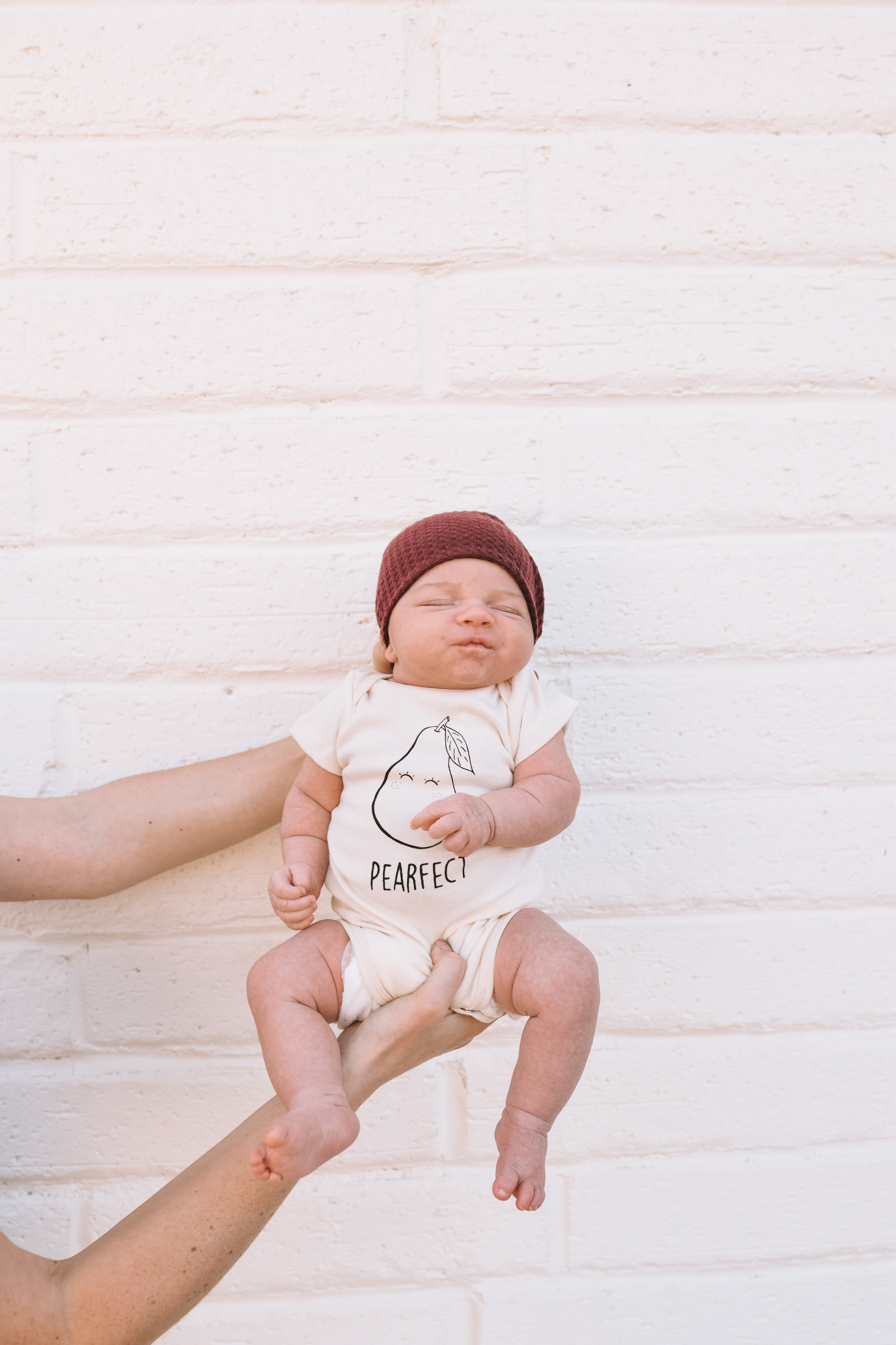 One Month Old Milestone Photos - The Overwhelmed Mommy Blogger