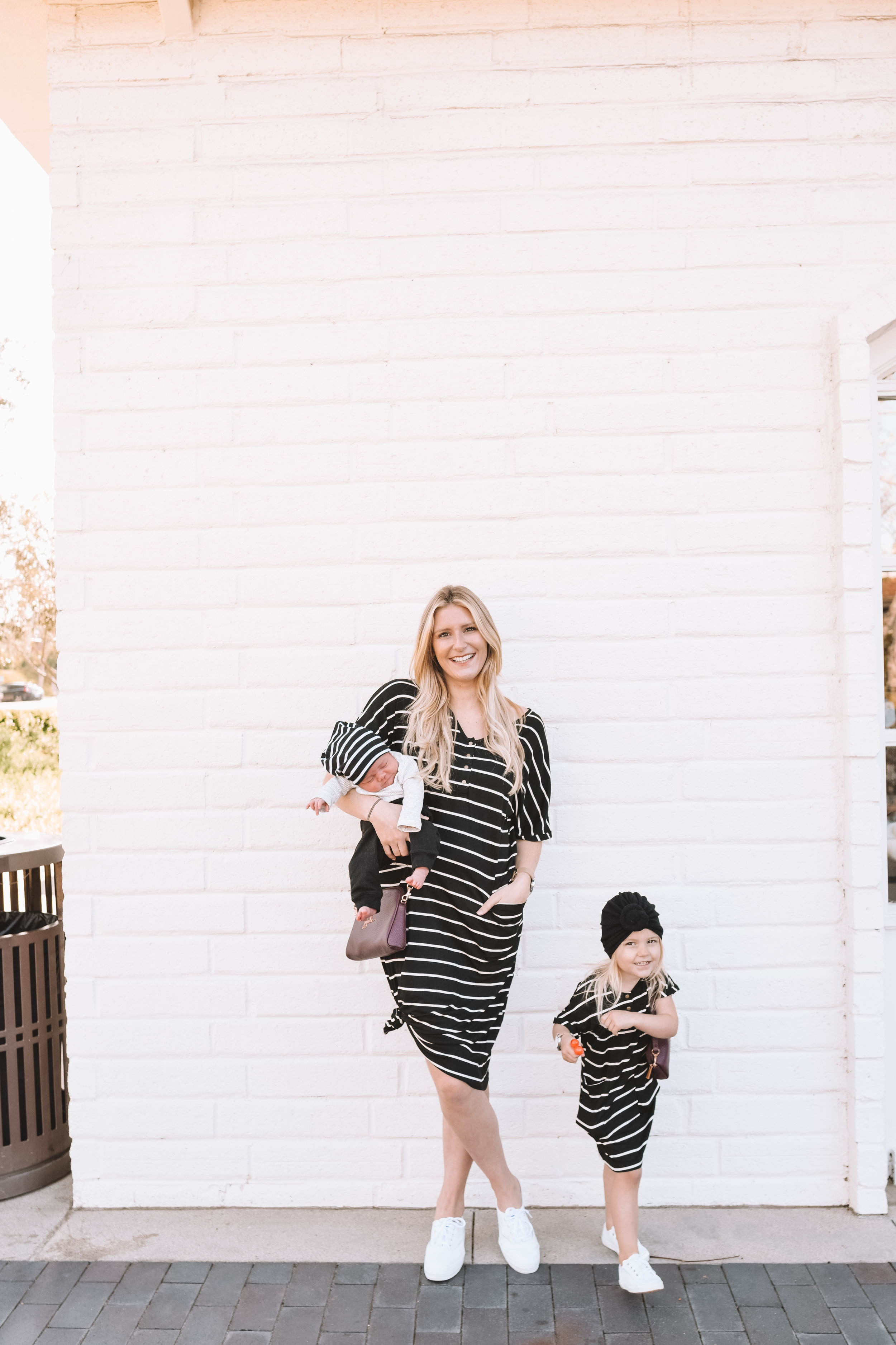 Mom and Son Daughter Matching Clothes - Mommy and Me Fashion - The Overwhelmed Mommy Blogger