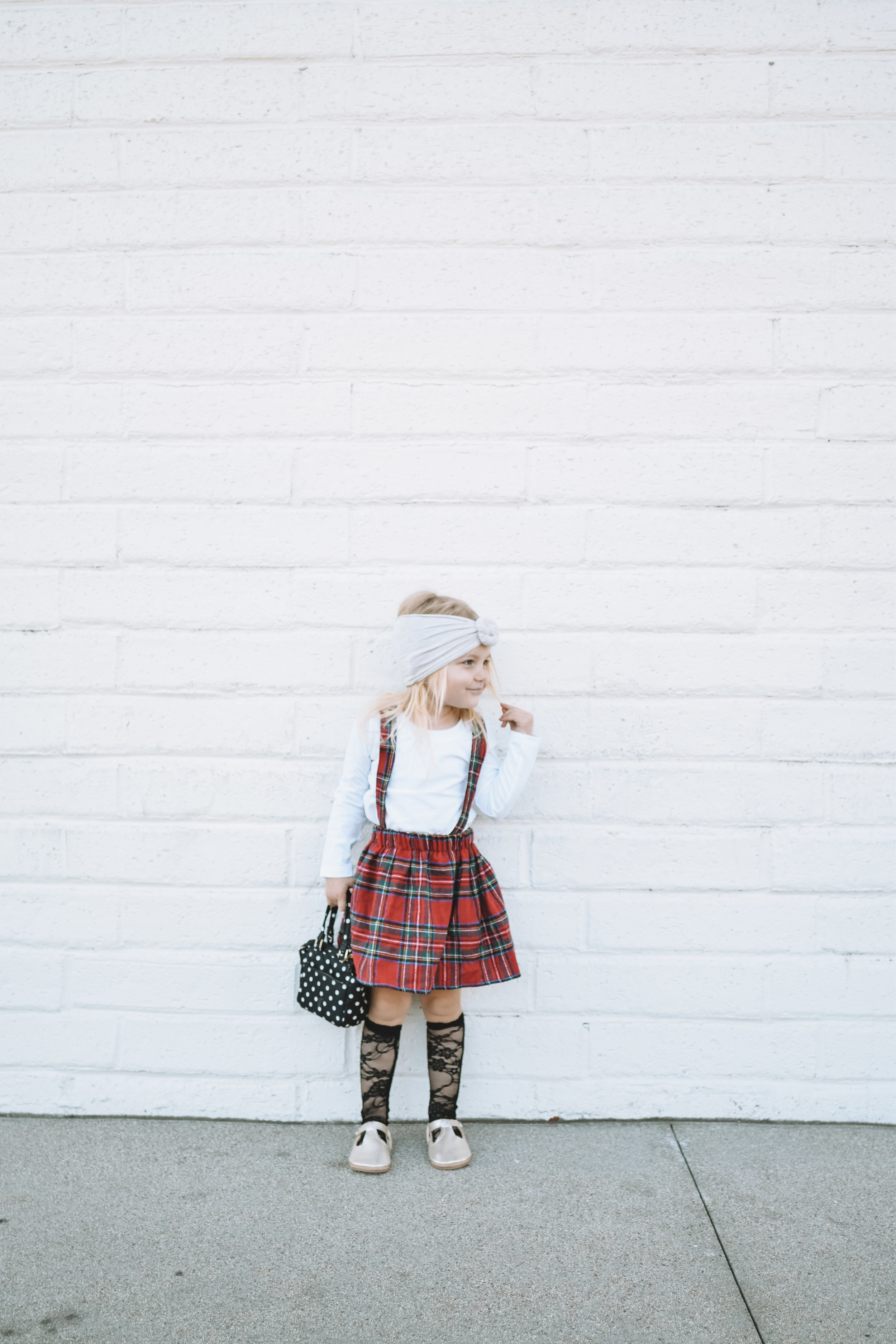 Cute Baby Kids Clothes Suspender Skirt - The Overwhelmed Mommy Blogger