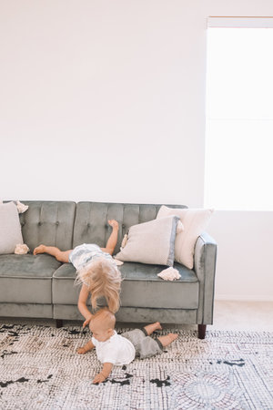 Grey Velvet Formal Living Room Couches - Living Room Front Room ...