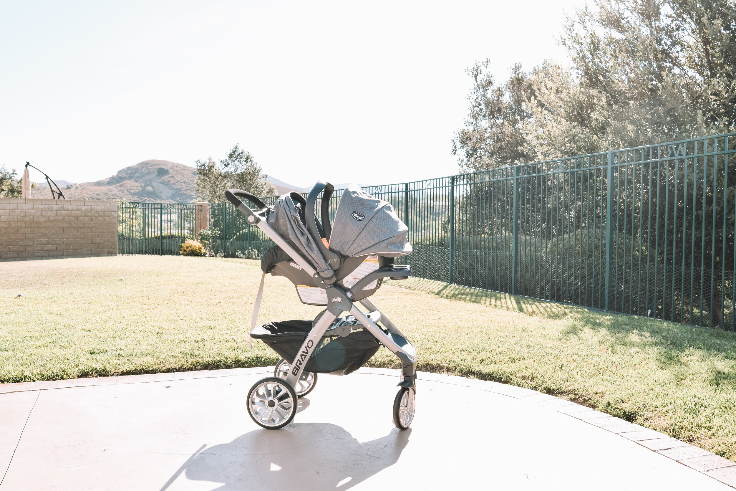 Chicco Bravo Convertible Stroller Review + Tutorials | The Overwhelmed Mommy Blogger