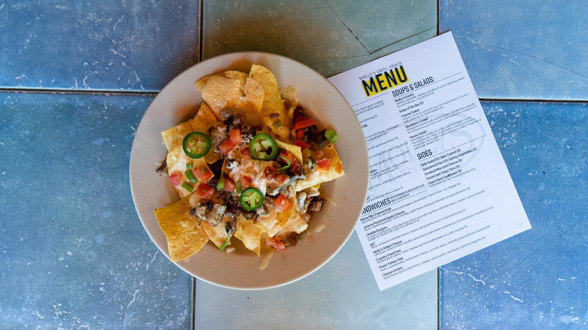 menu -