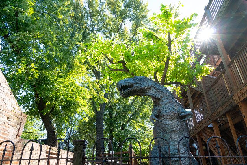 Molly's Patio T-Rex