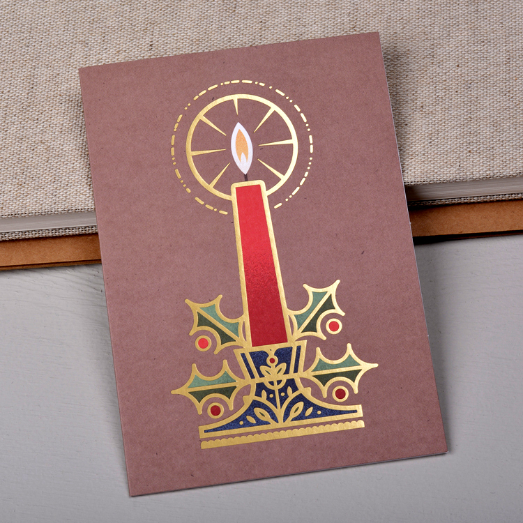 Candle Card, photo courtesy of Stefan Govasli