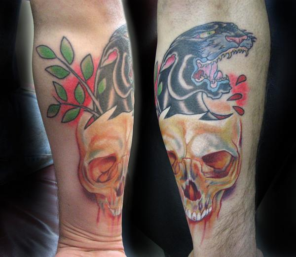 Traditional_panther_realistic_skull_tattoo.jpg
