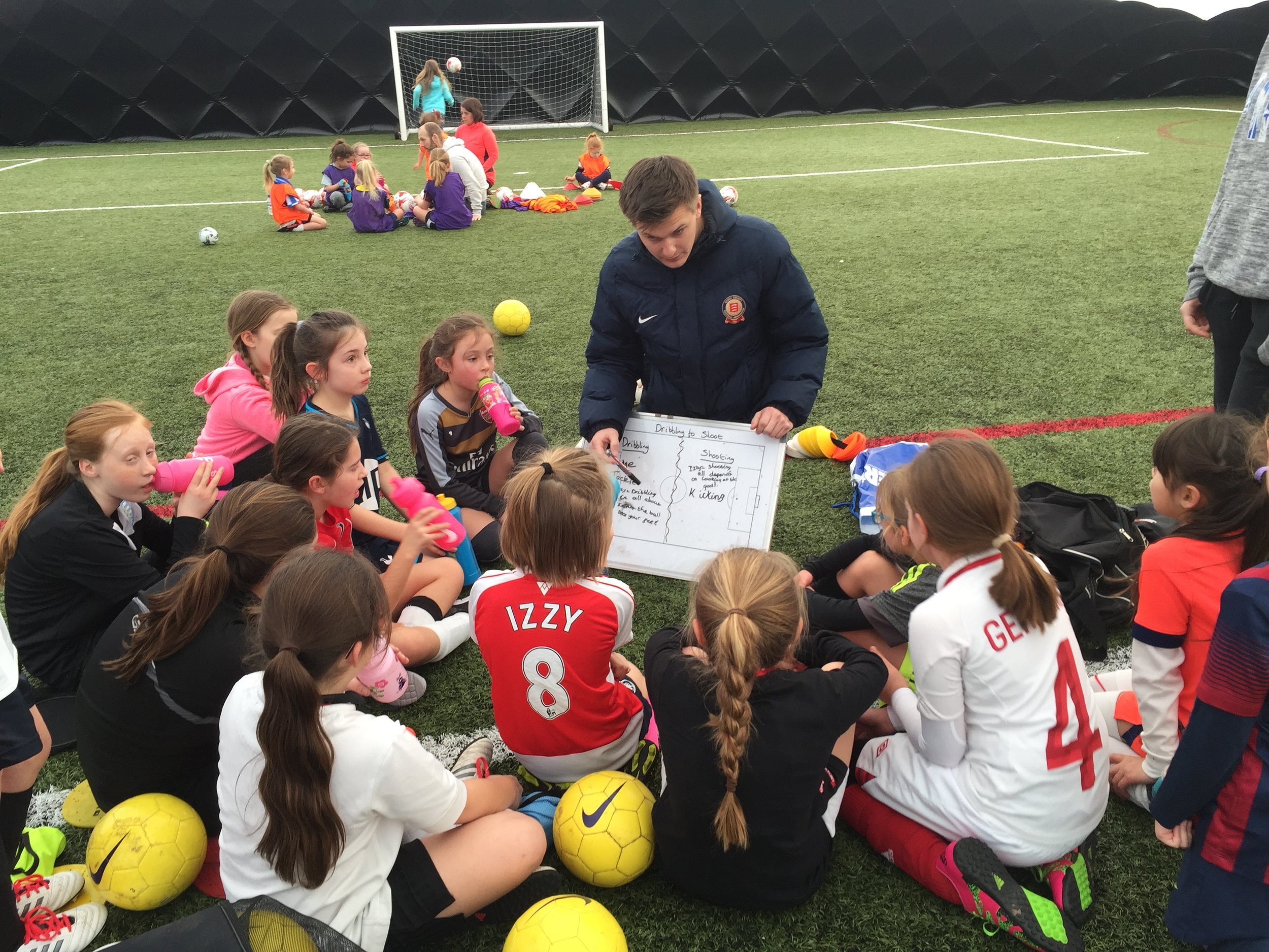 Essex FA supporting our Wildcats by providing coaching support