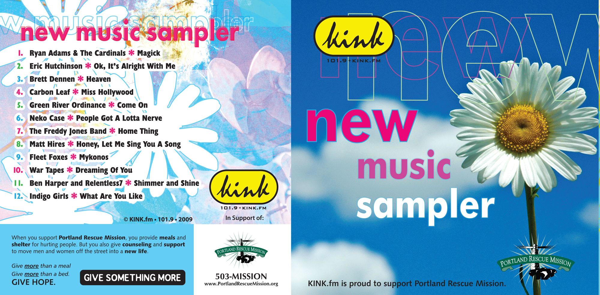 kink.fm road music sponsored by Portland Rescue MIsson