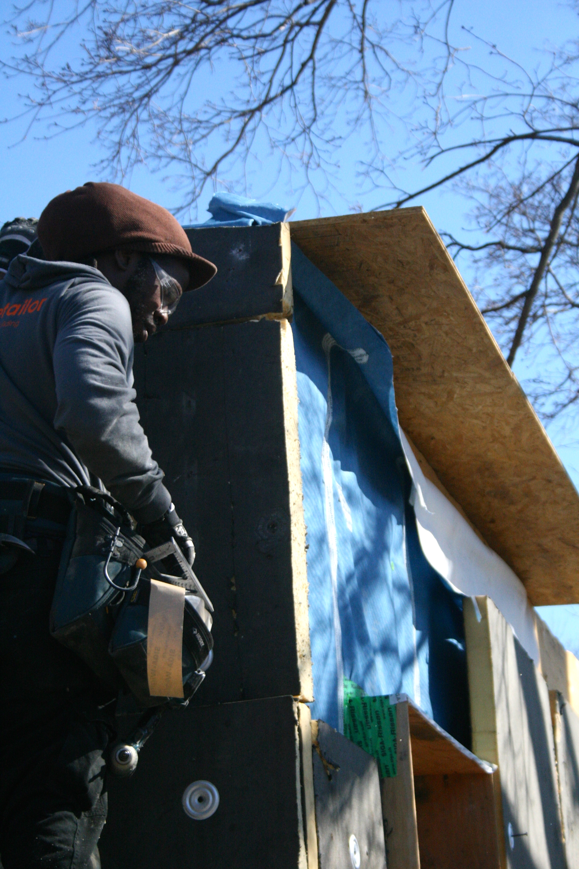 insulation going up