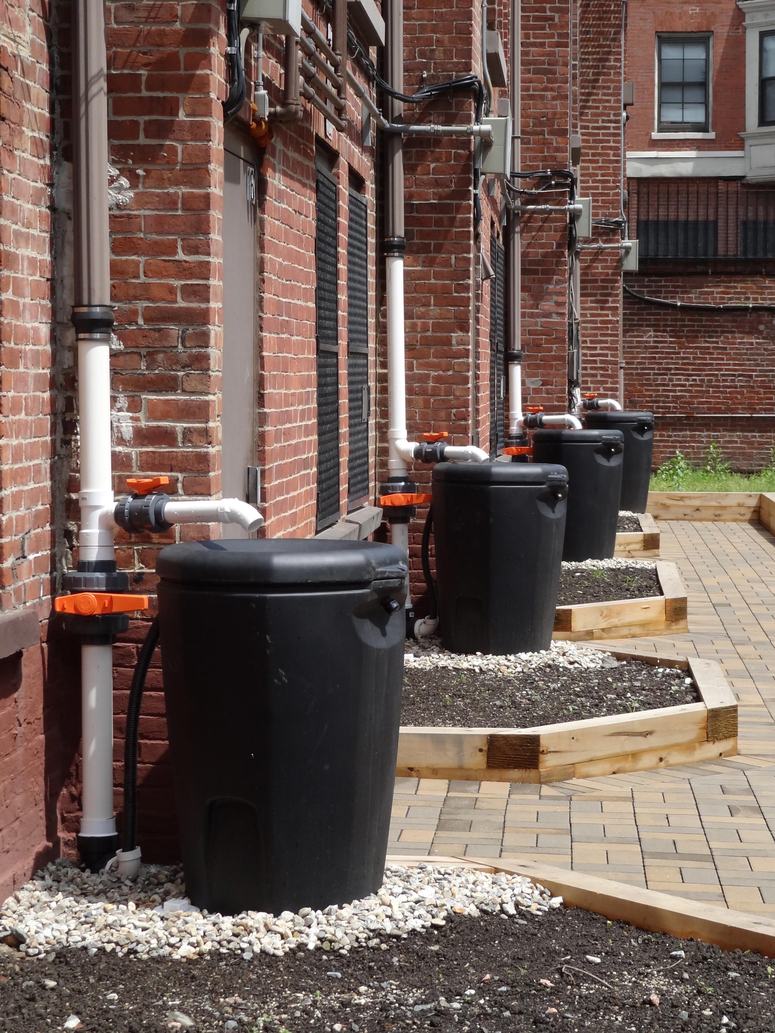 new rain barrels
