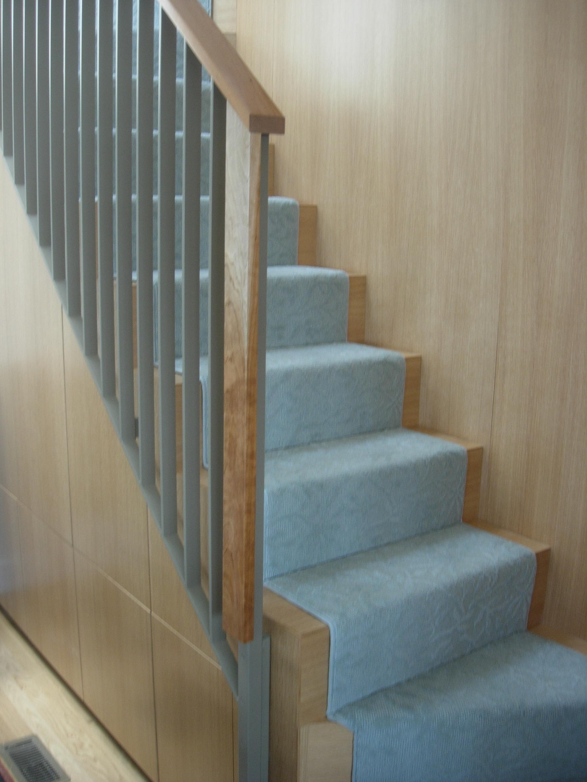 Loft stair railing