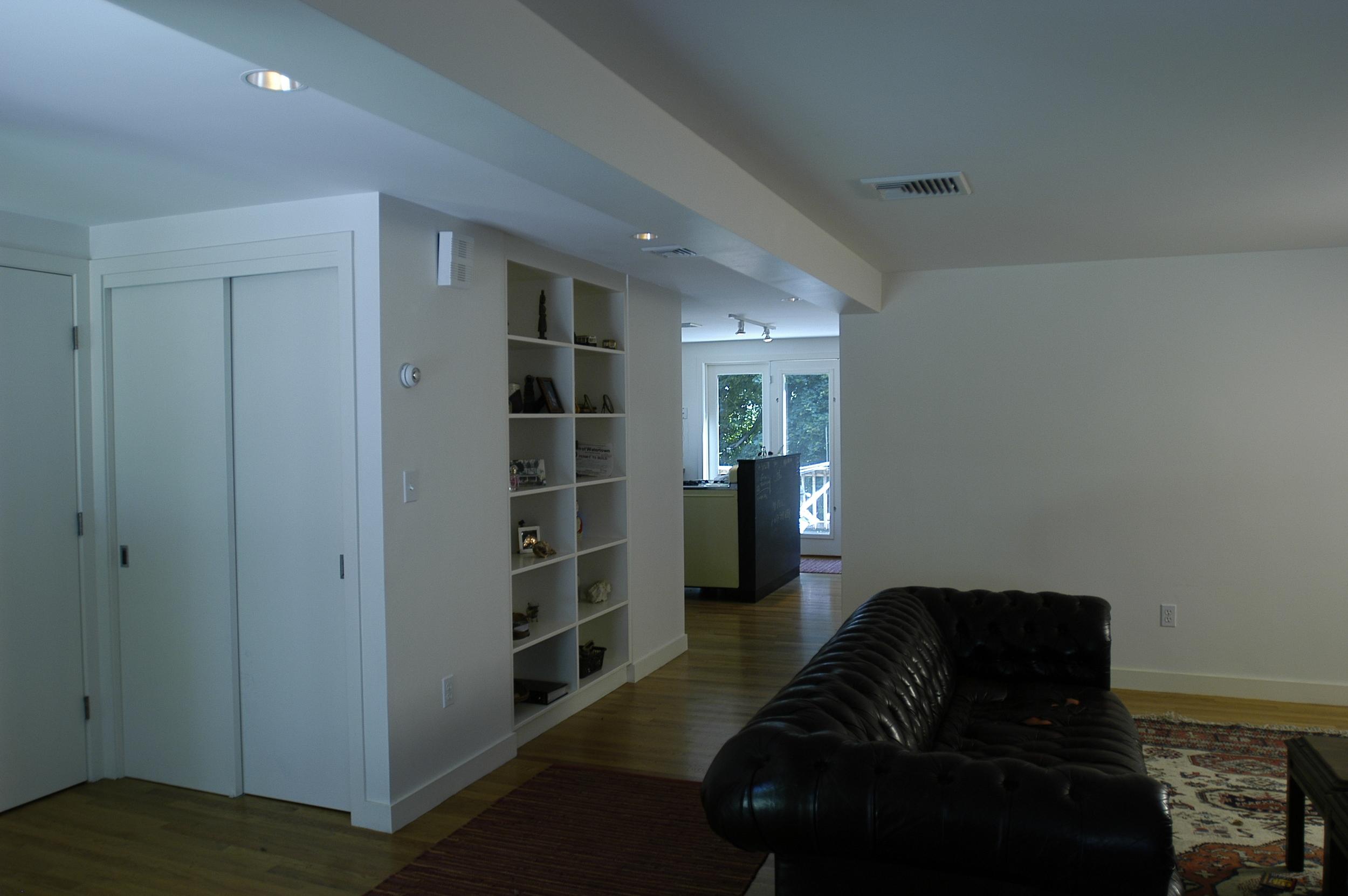 Living room storage