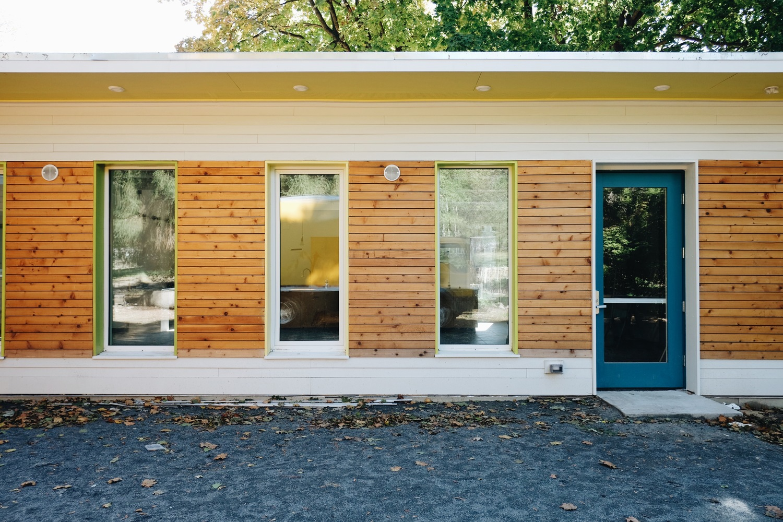 facing outdoor classroom