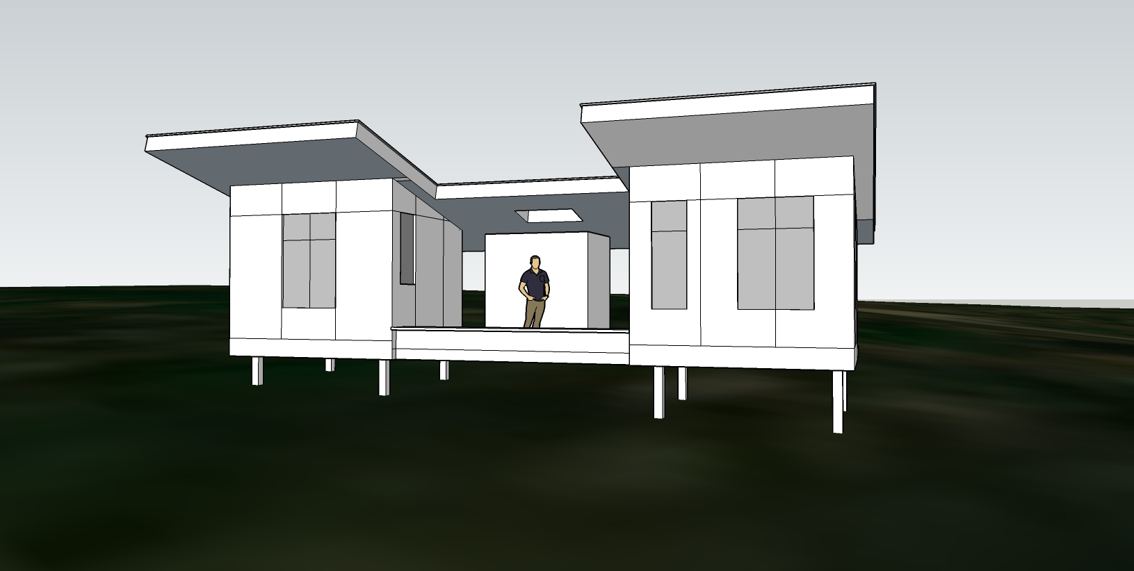 Scheme B (utility buildings for Tiny House on wheels)