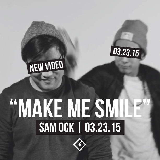 """Make Me Smile"" Music Video Promotional Graphic"