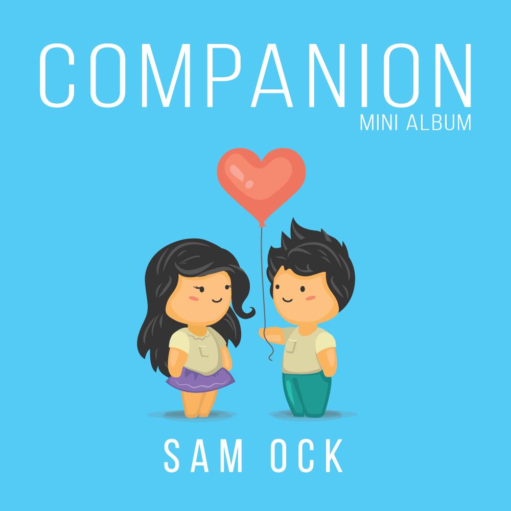 Sam Ock - Companion EP Mini Album Cover Artwork Art