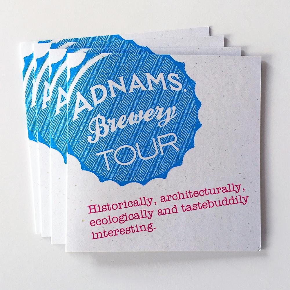 Adnams Brewery Tour Vouchers x 4