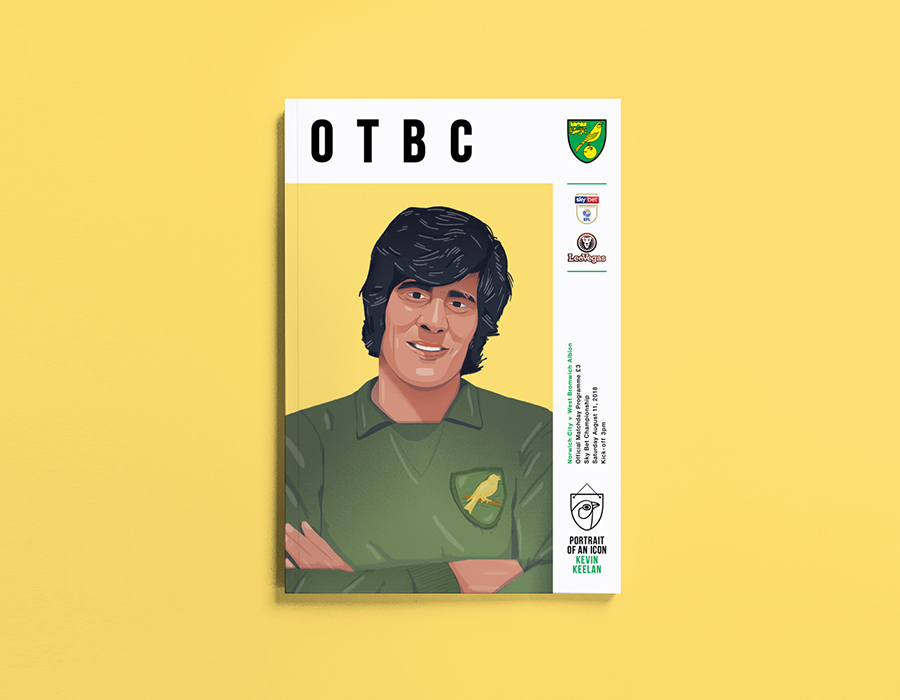 Norwich City Programme Covers 18-19
