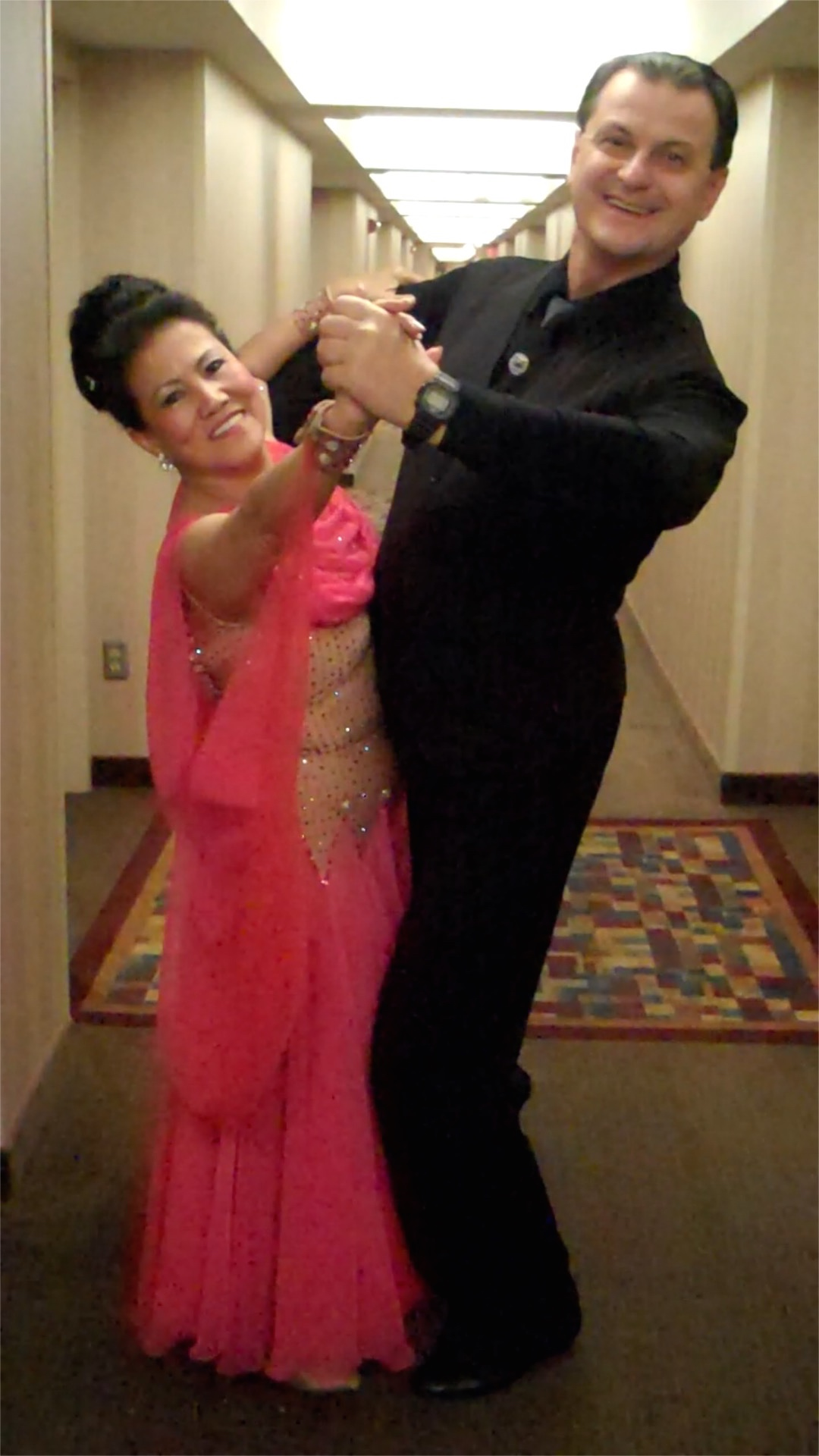 BDASL studentTammy and instructorVassily at Ohio Star Ball National Championship Competition.