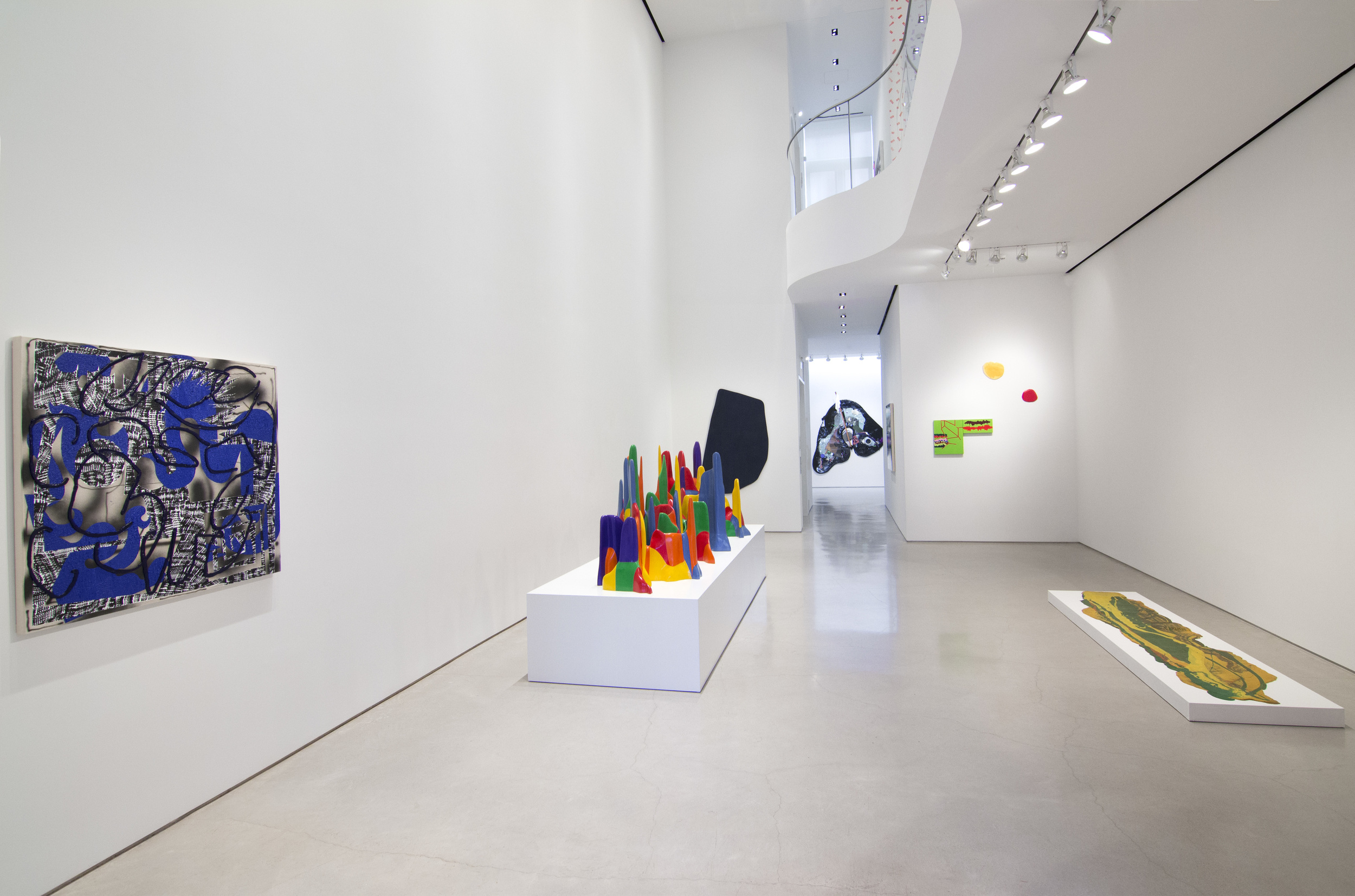 Splotch Installation view Sperone Westwater, New York Curated by Eileen Jeng 7 July – 5 August, 2016
