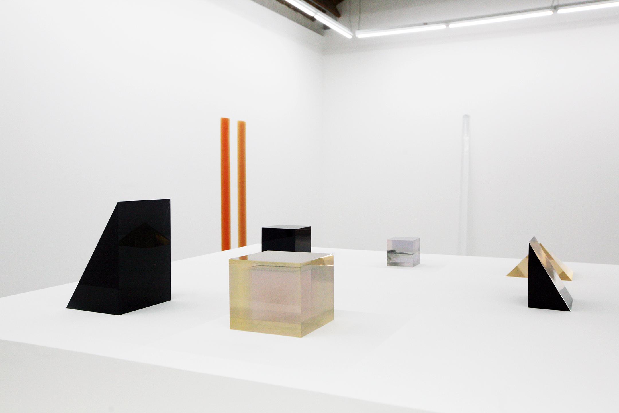 Installation view,Peter Alexander Sculpture 1966 - 2016: A Career Survey Parrasch Heijnen Gallery