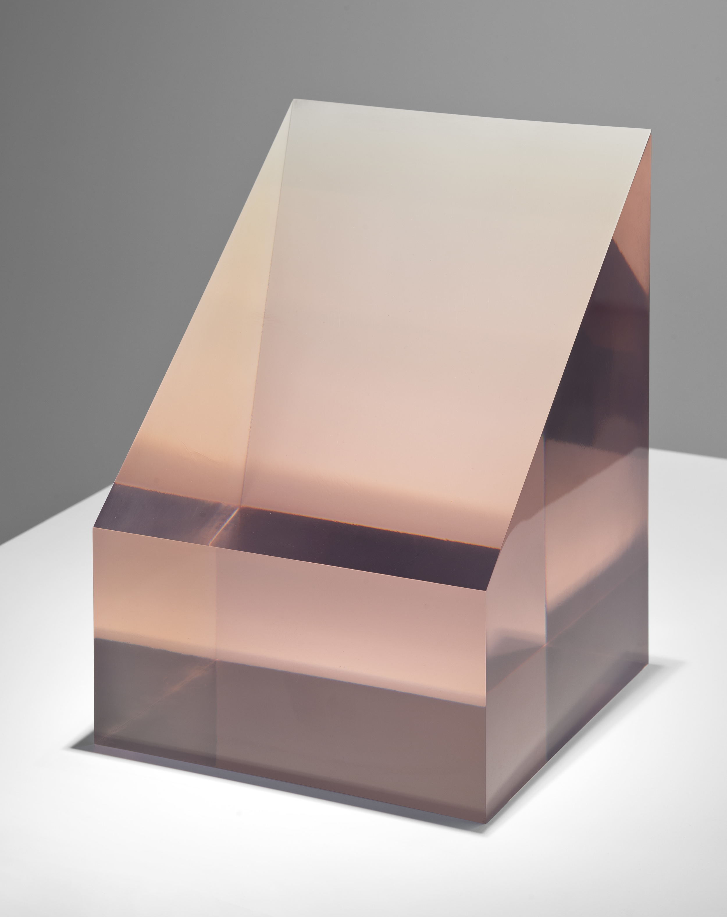 Peter Alexander Pink Box, 1967 polyester resin 12 x 8-3/4 x 8-2/4 inches Image courtesy of Parrasch Heijnen Gallery