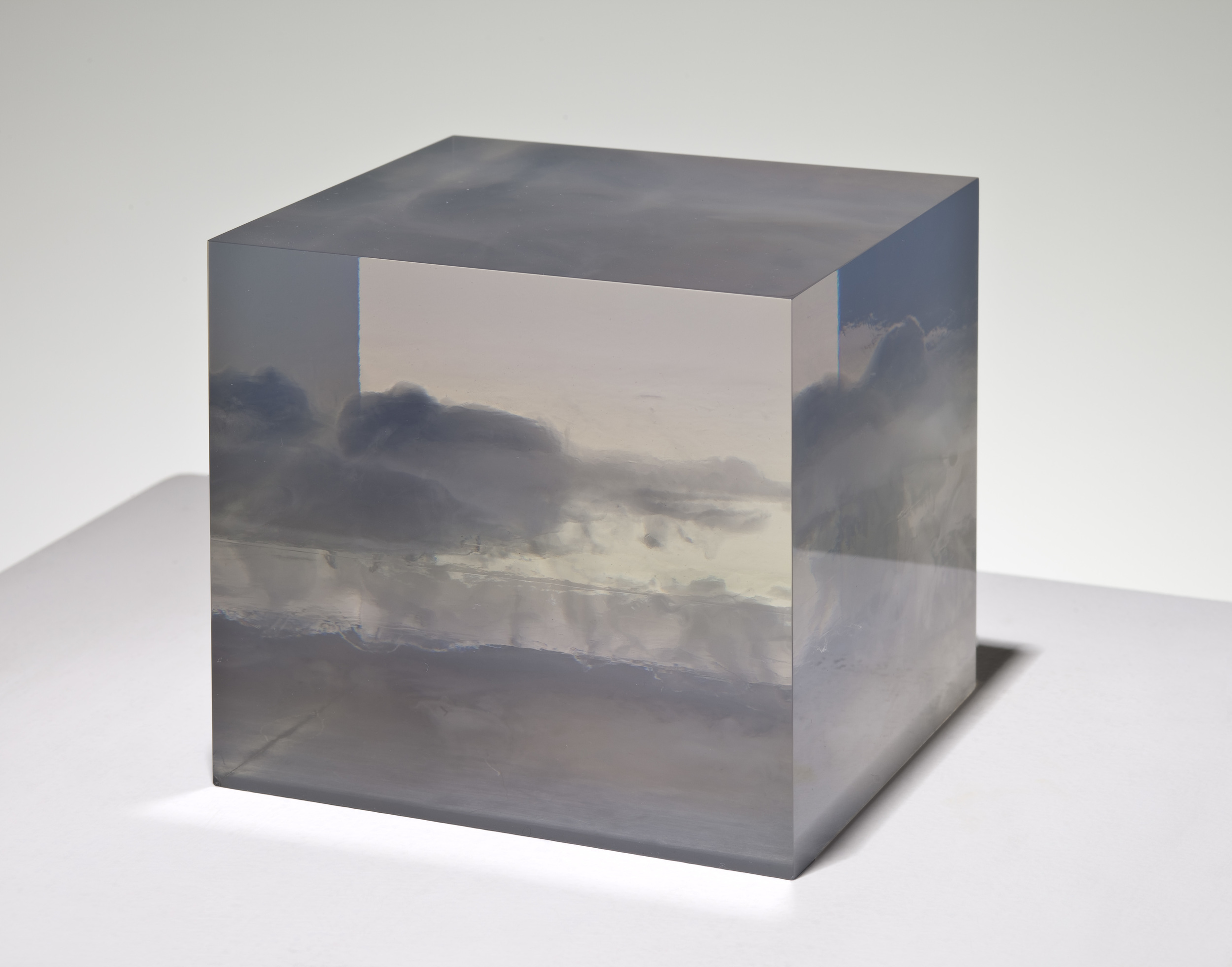 Peter Alexander Small Cloud Box, 1966 polyester resin 5 x 5 x 5 inches Image courtesy of Parrasch Heijnen Gallery